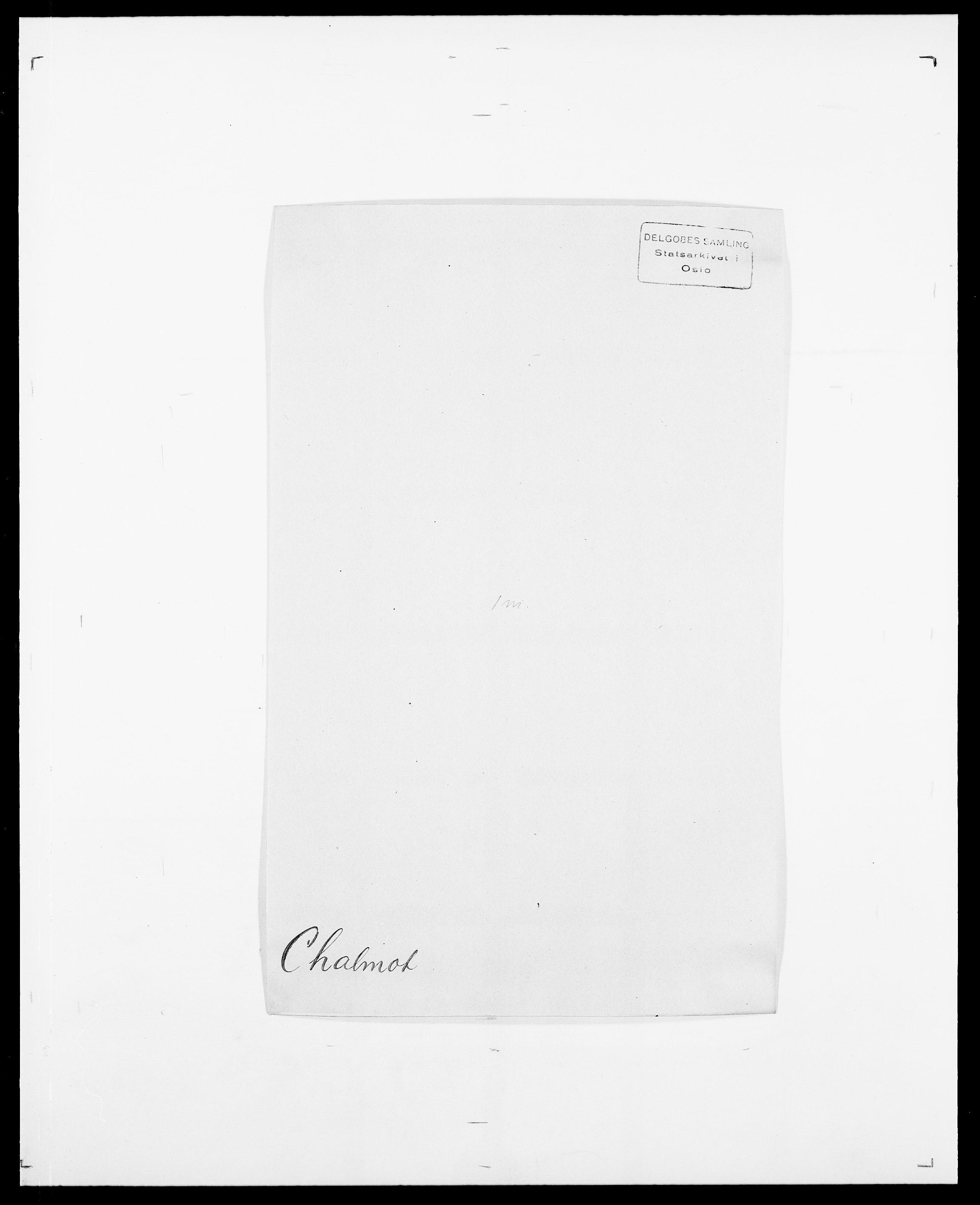SAO, Delgobe, Charles Antoine - samling, D/Da/L0008: Capjon - Dagenbolt, s. 167