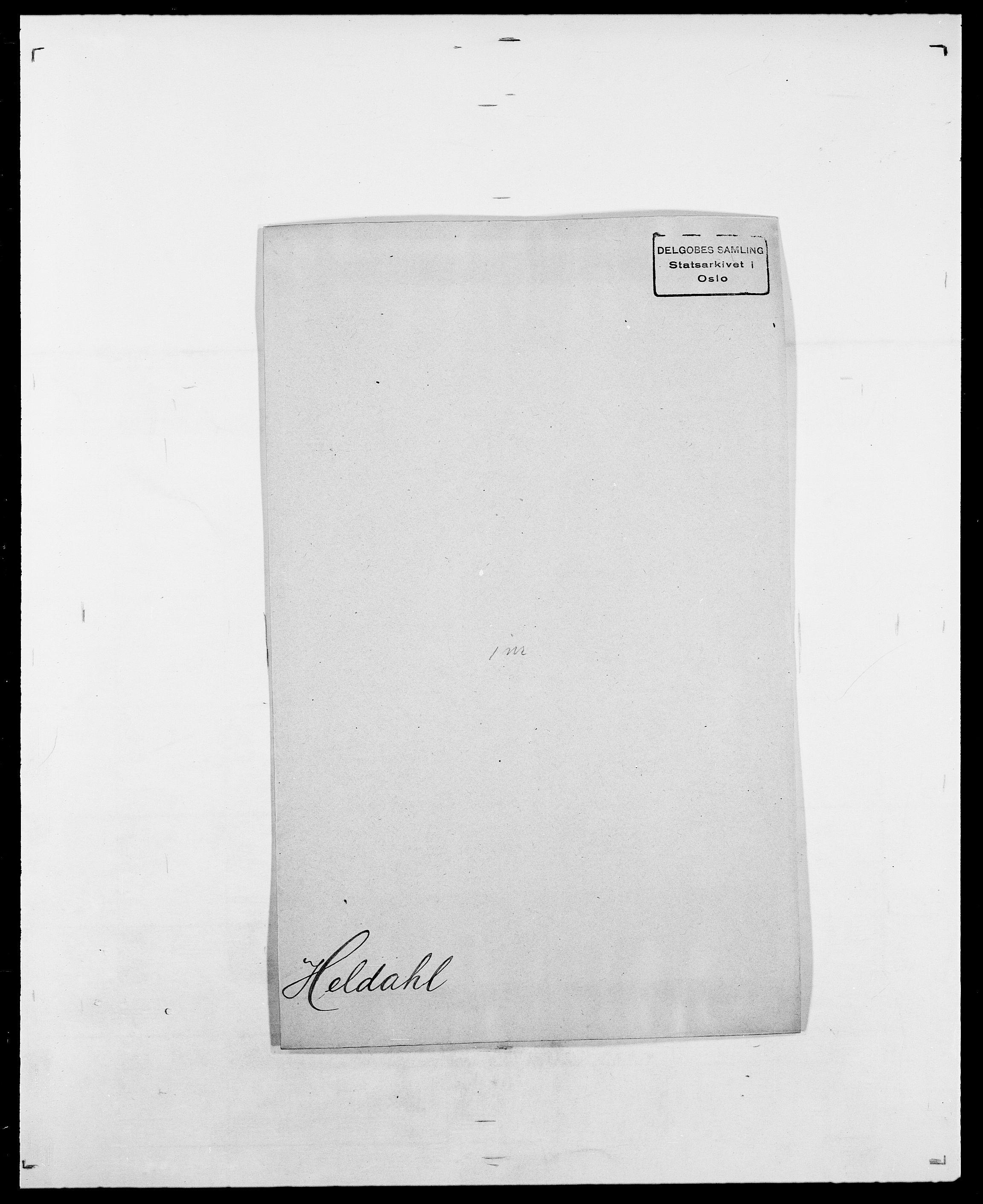 SAO, Delgobe, Charles Antoine - samling, D/Da/L0017: Helander - Hjørne, s. 5