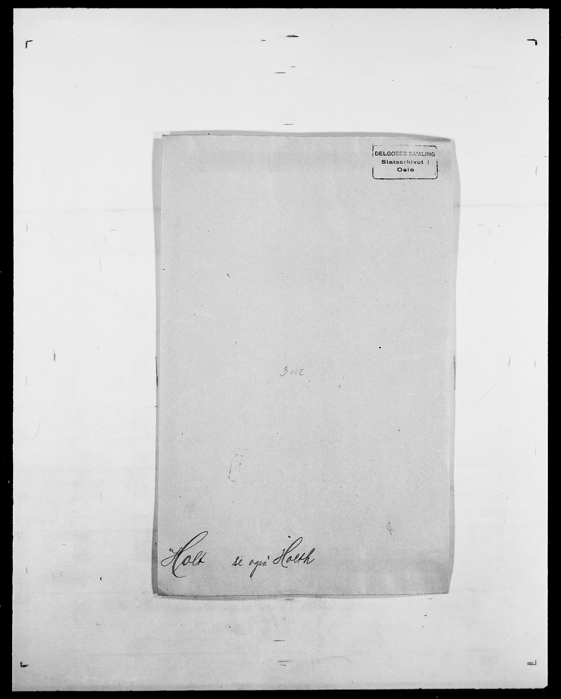SAO, Delgobe, Charles Antoine - samling, D/Da/L0018: Hoch - Howert, s. 814