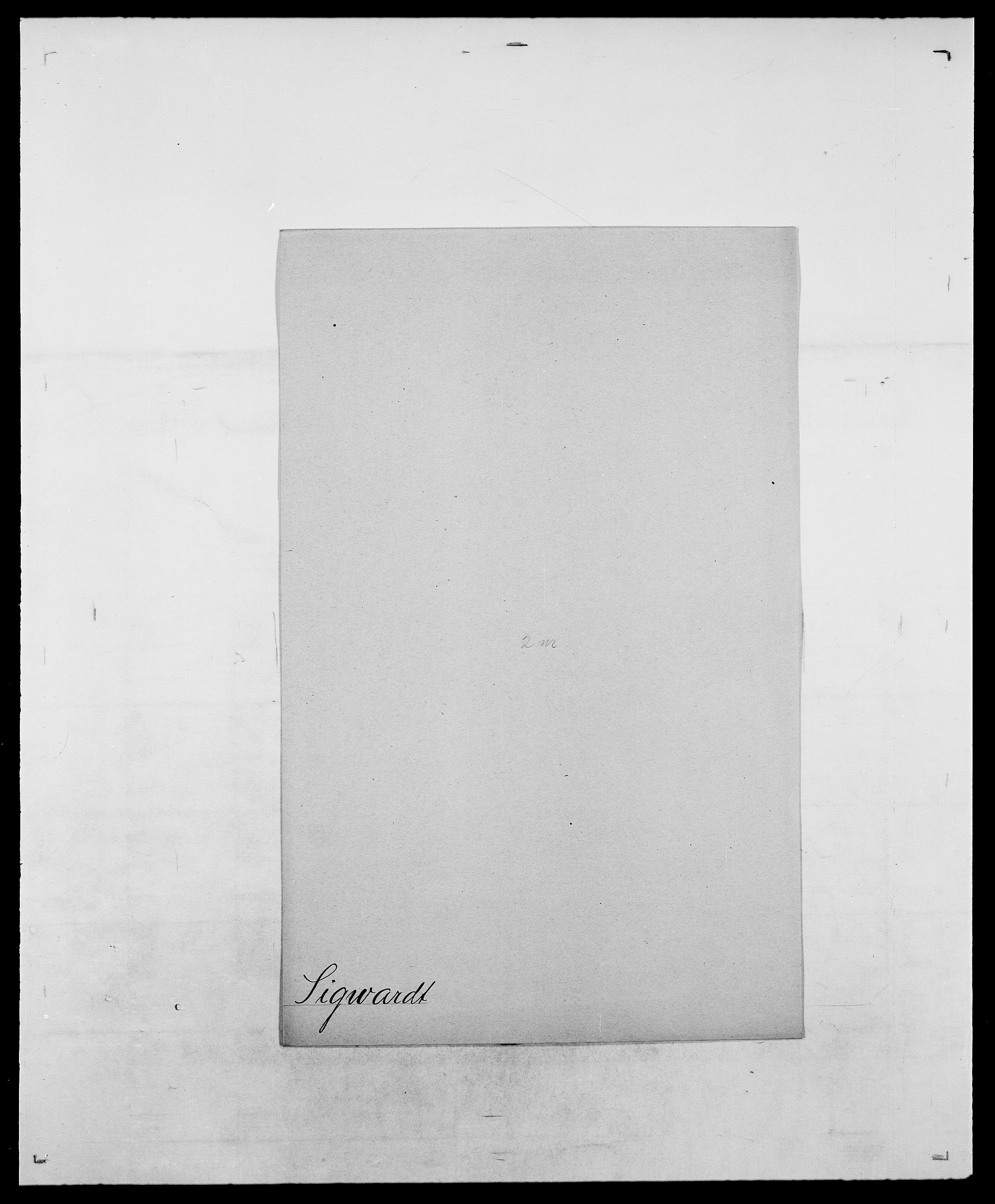 SAO, Delgobe, Charles Antoine - samling, D/Da/L0035: Schnabel - sjetman, s. 790