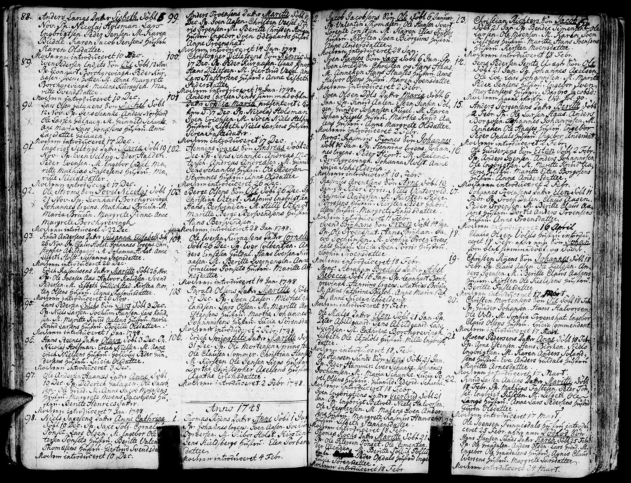 SAT, Ministerialprotokoller, klokkerbøker og fødselsregistre - Sør-Trøndelag, 681/L0925: Ministerialbok nr. 681A03, 1727-1766, s. 64