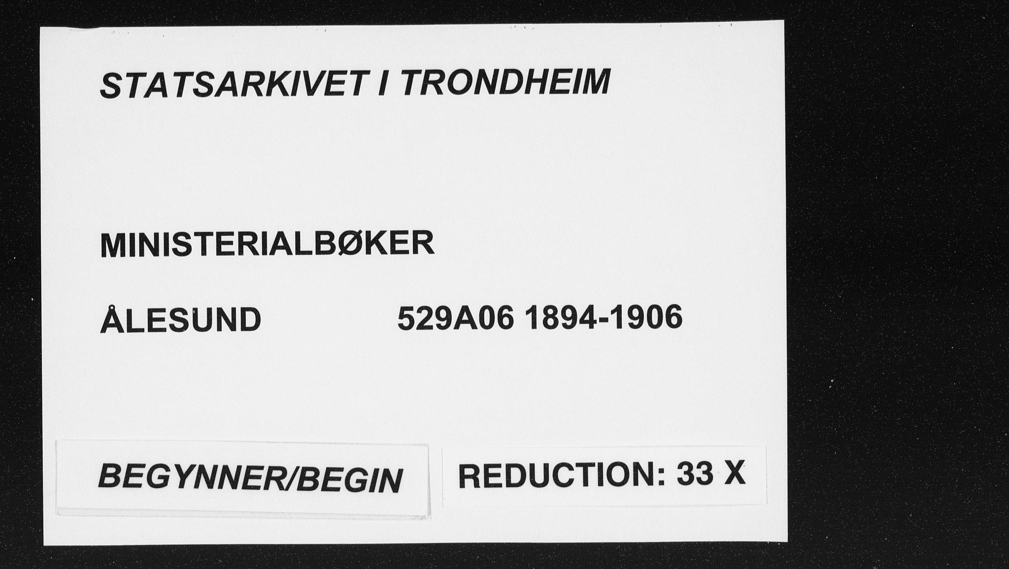 SAT, Ministerialprotokoller, klokkerbøker og fødselsregistre - Møre og Romsdal, 529/L0456: Ministerialbok nr. 529A06, 1894-1906