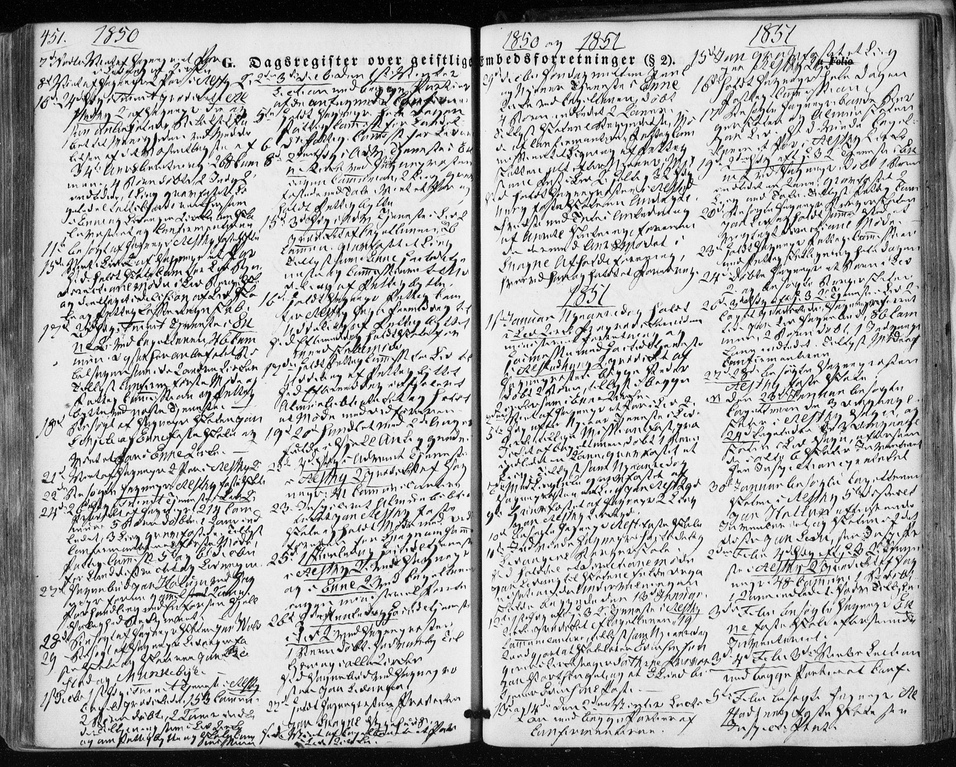 SAT, Ministerialprotokoller, klokkerbøker og fødselsregistre - Nord-Trøndelag, 717/L0154: Ministerialbok nr. 717A07 /1, 1850-1862, s. 451