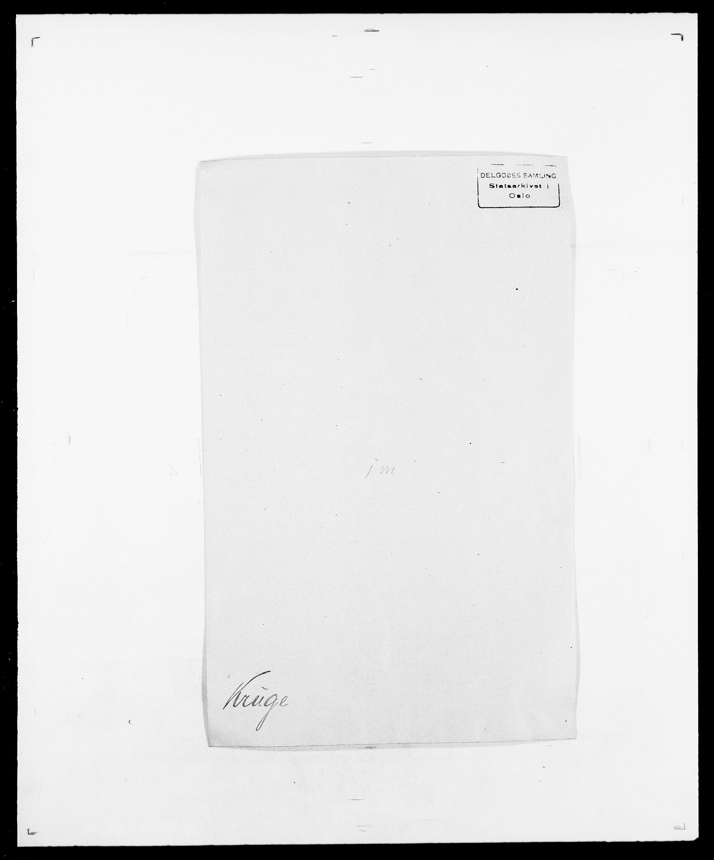 SAO, Delgobe, Charles Antoine - samling, D/Da/L0022: Krog - Lasteen, s. 105