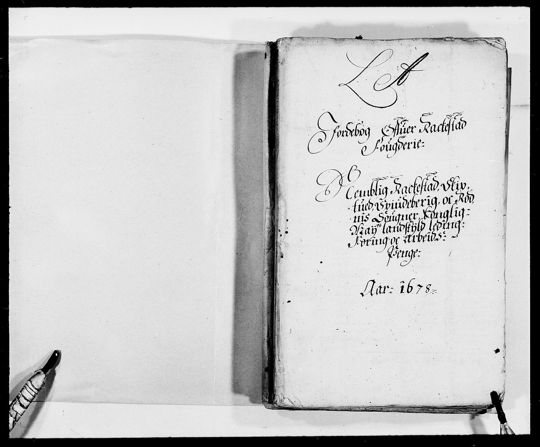 RA, Rentekammeret inntil 1814, Reviderte regnskaper, Fogderegnskap, R05/L0271: Fogderegnskap Rakkestad, 1678-1679, s. 2