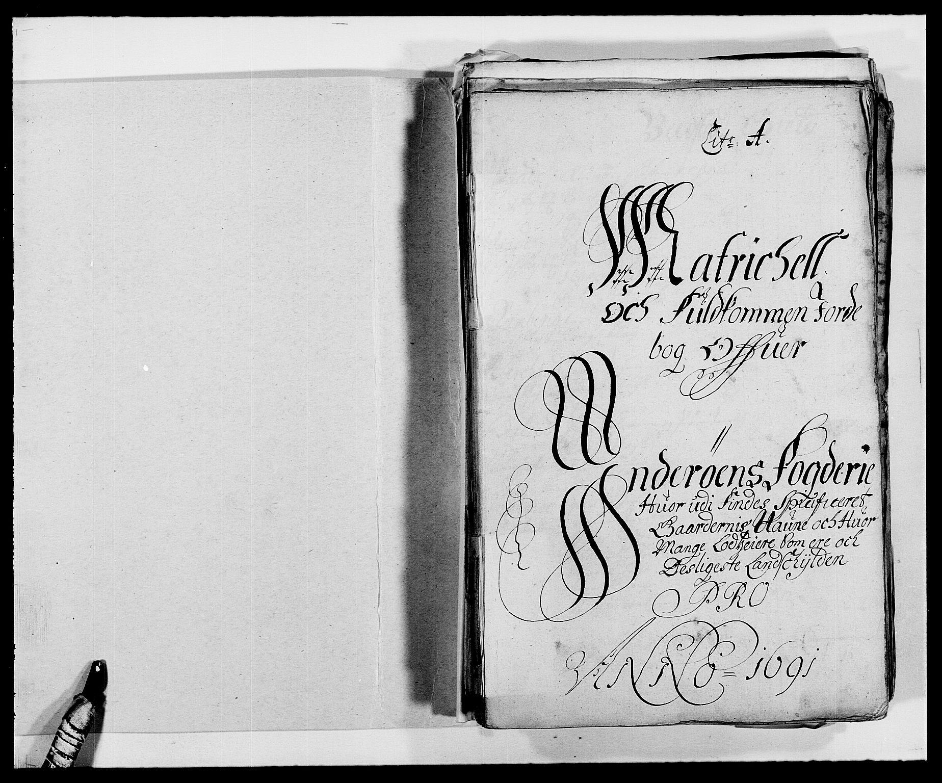 RA, Rentekammeret inntil 1814, Reviderte regnskaper, Fogderegnskap, R63/L4307: Fogderegnskap Inderøy, 1690-1691, s. 233