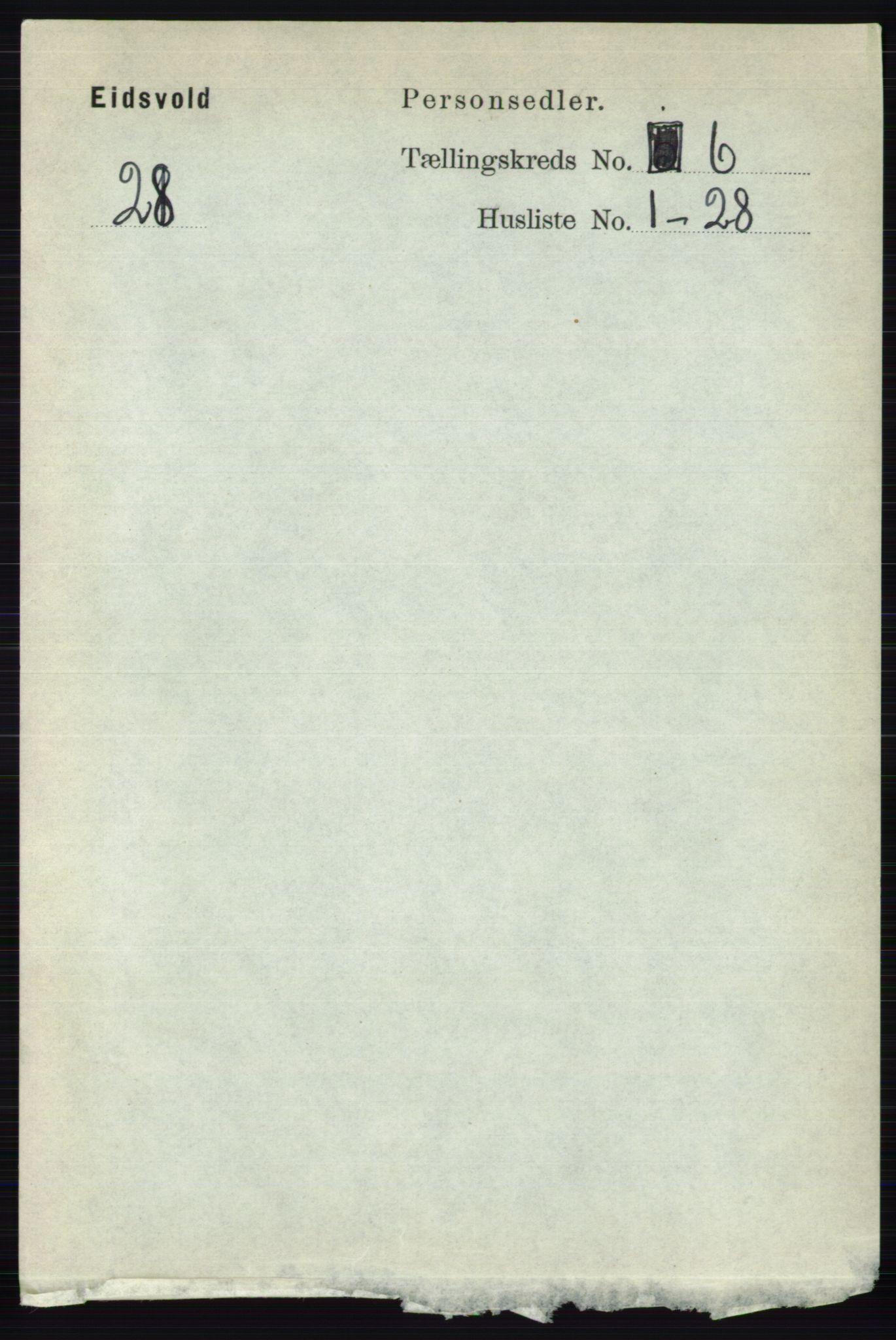 RA, Folketelling 1891 for 0237 Eidsvoll herred, 1891, s. 3782