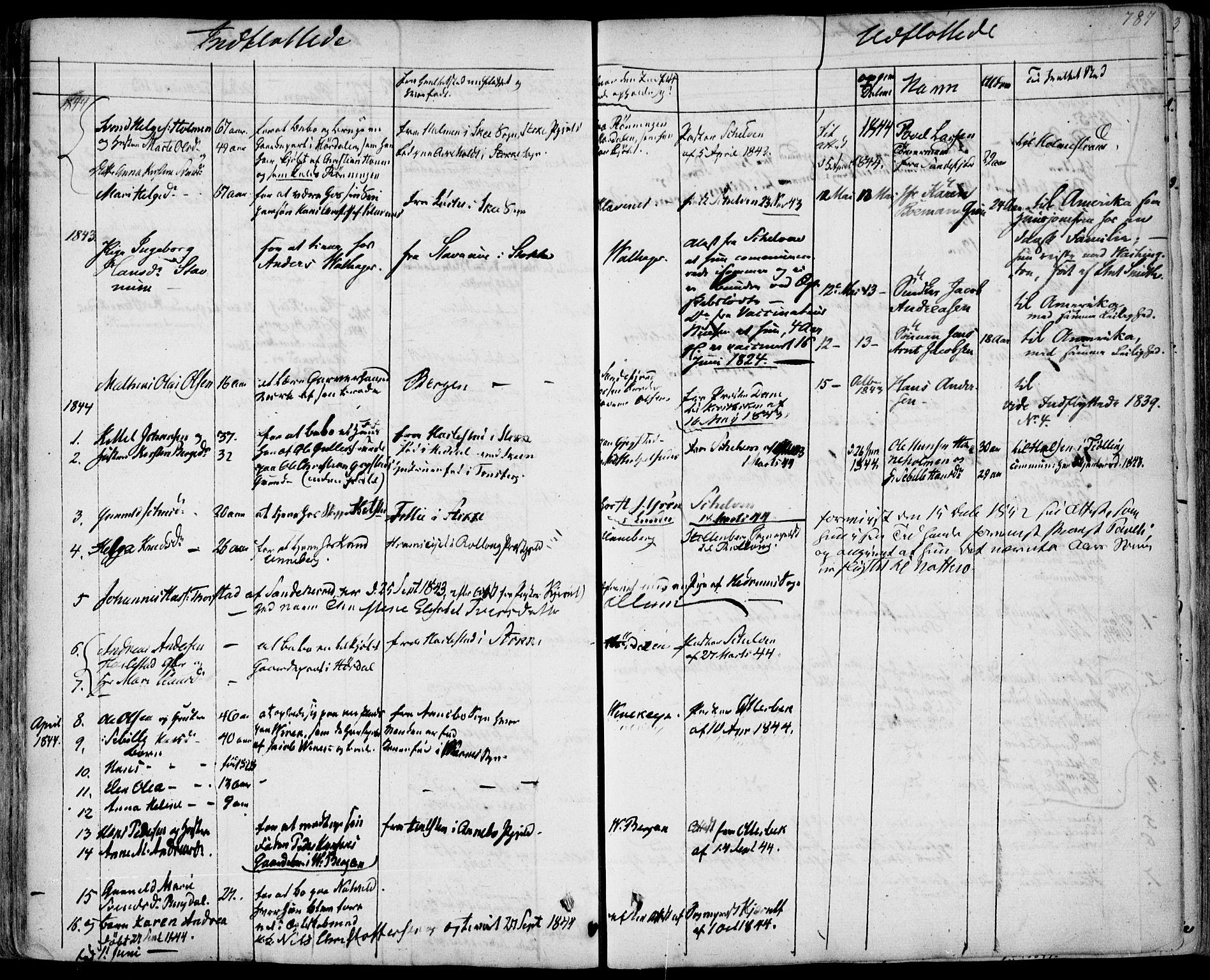 SAKO, Sandar kirkebøker, F/Fa/L0005: Ministerialbok nr. 5, 1832-1847, s. 786-787