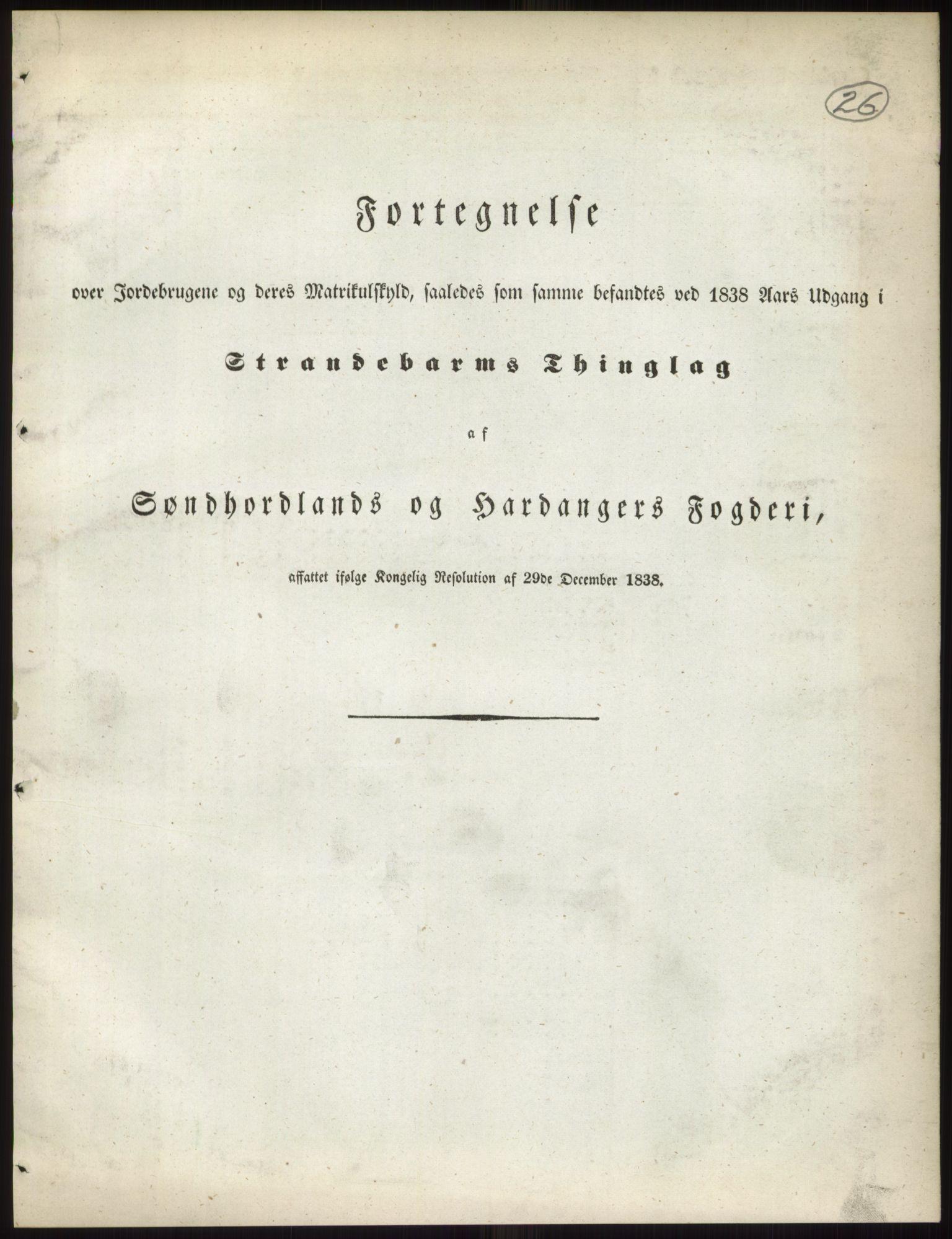 RA, 1838-matrikkelen (publikasjon)*, 1838, s. 26