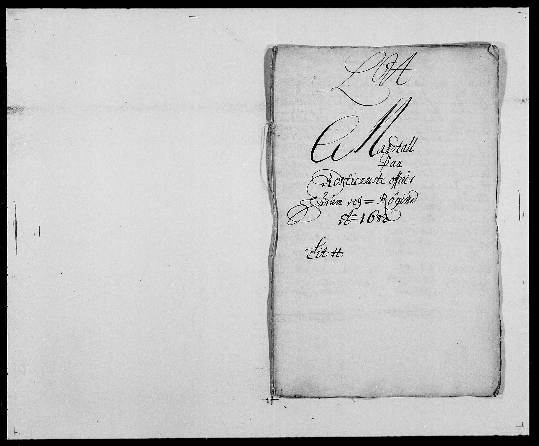 RA, Rentekammeret inntil 1814, Reviderte regnskaper, Fogderegnskap, R29/L1692: Fogderegnskap Hurum og Røyken, 1682-1687, s. 104