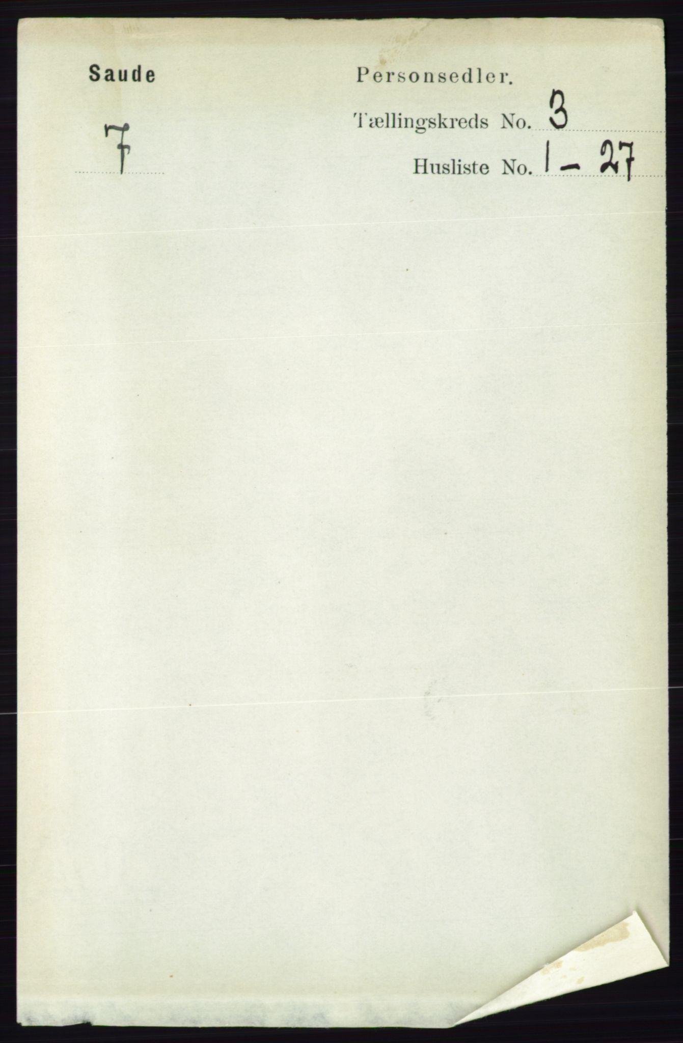RA, Folketelling 1891 for 0822 Sauherad herred, 1891, s. 730