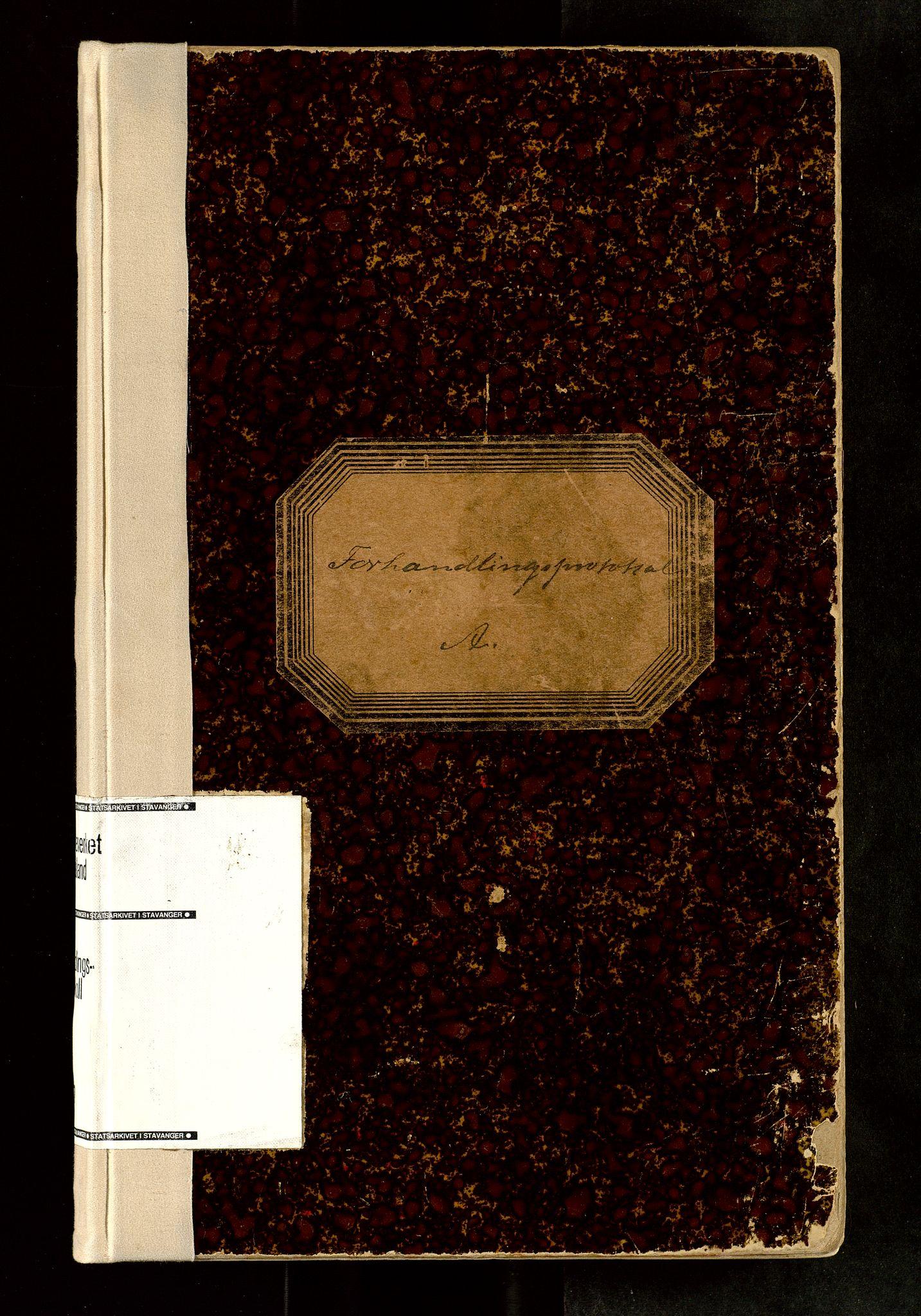 SAST, Rogaland jordskifterett, Oa/L0067: Forhandlingsprotokoll, 1908-1910