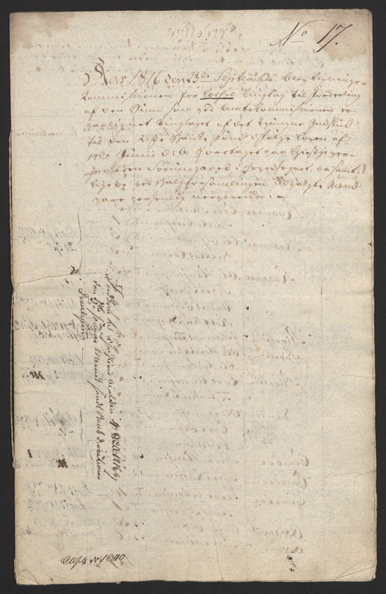 NOBA, Norges Bank/Sølvskatten 1816*, 1816-1818, s. 53