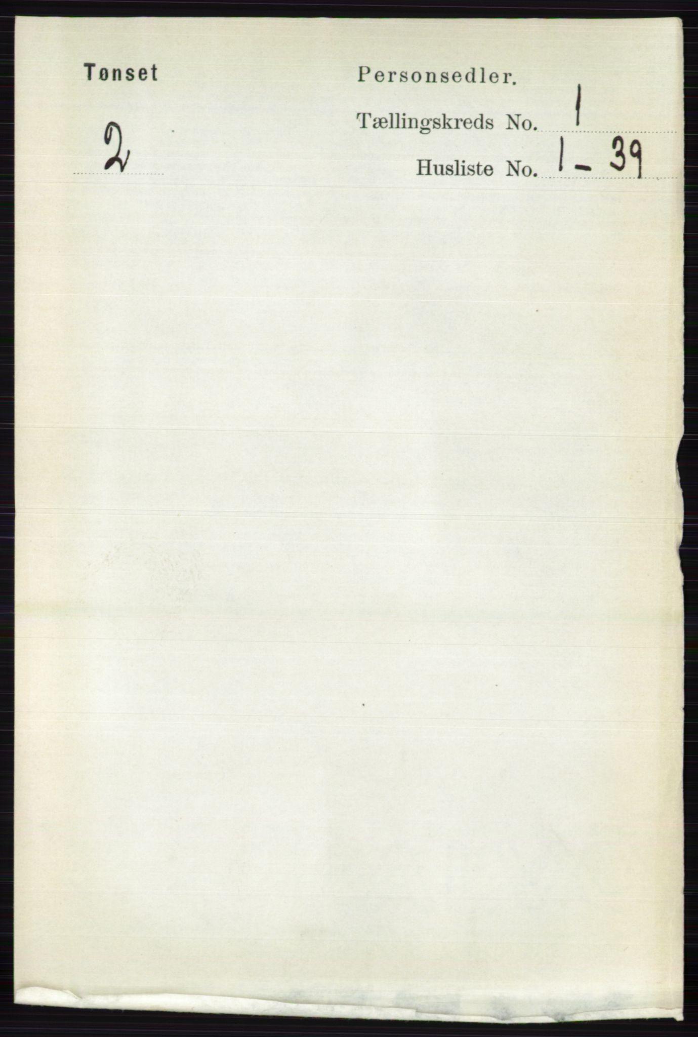 RA, Folketelling 1891 for 0437 Tynset herred, 1891, s. 73