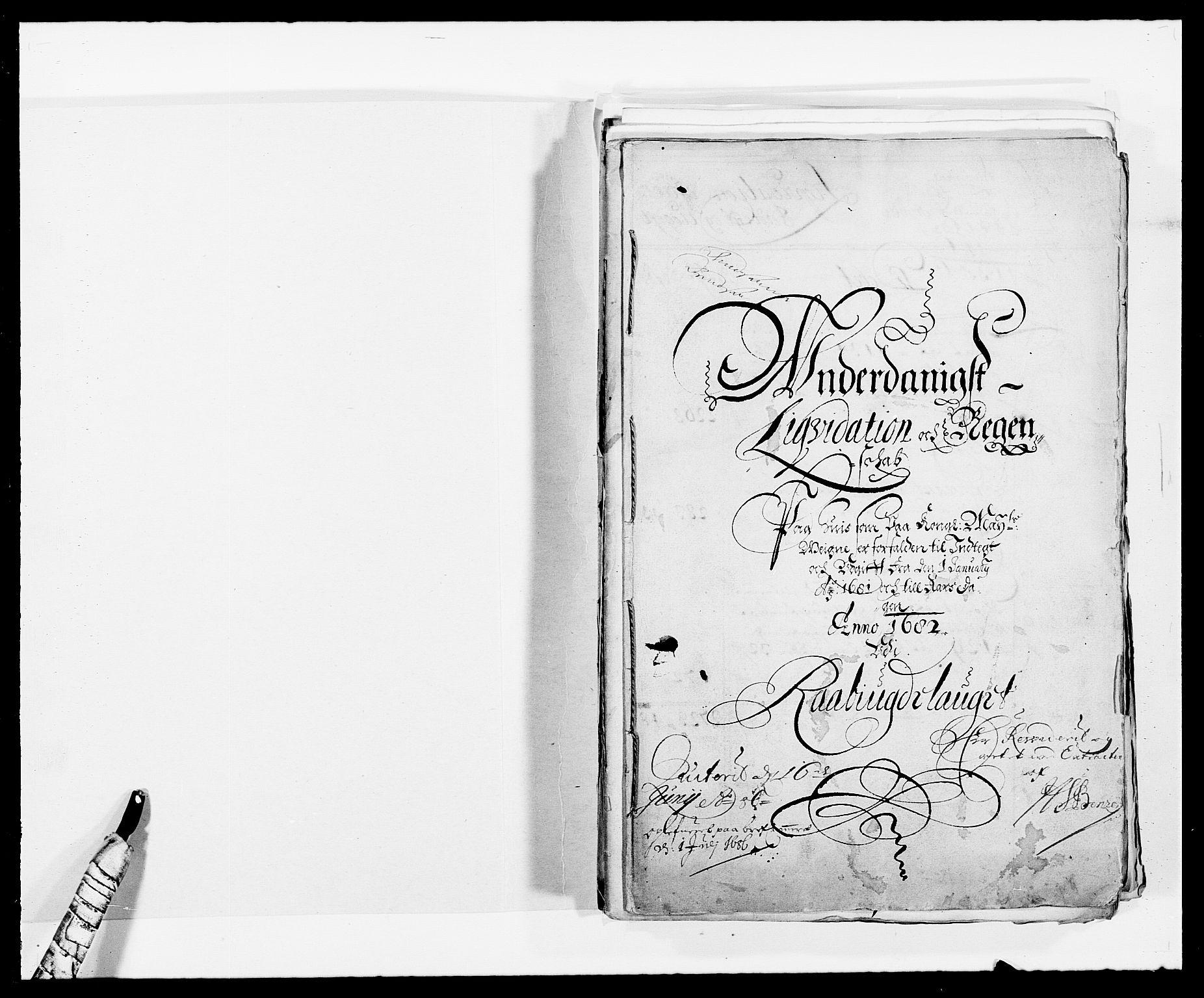 RA, Rentekammeret inntil 1814, Reviderte regnskaper, Fogderegnskap, R40/L2437: Fogderegnskap Råbyggelag, 1681, s. 2