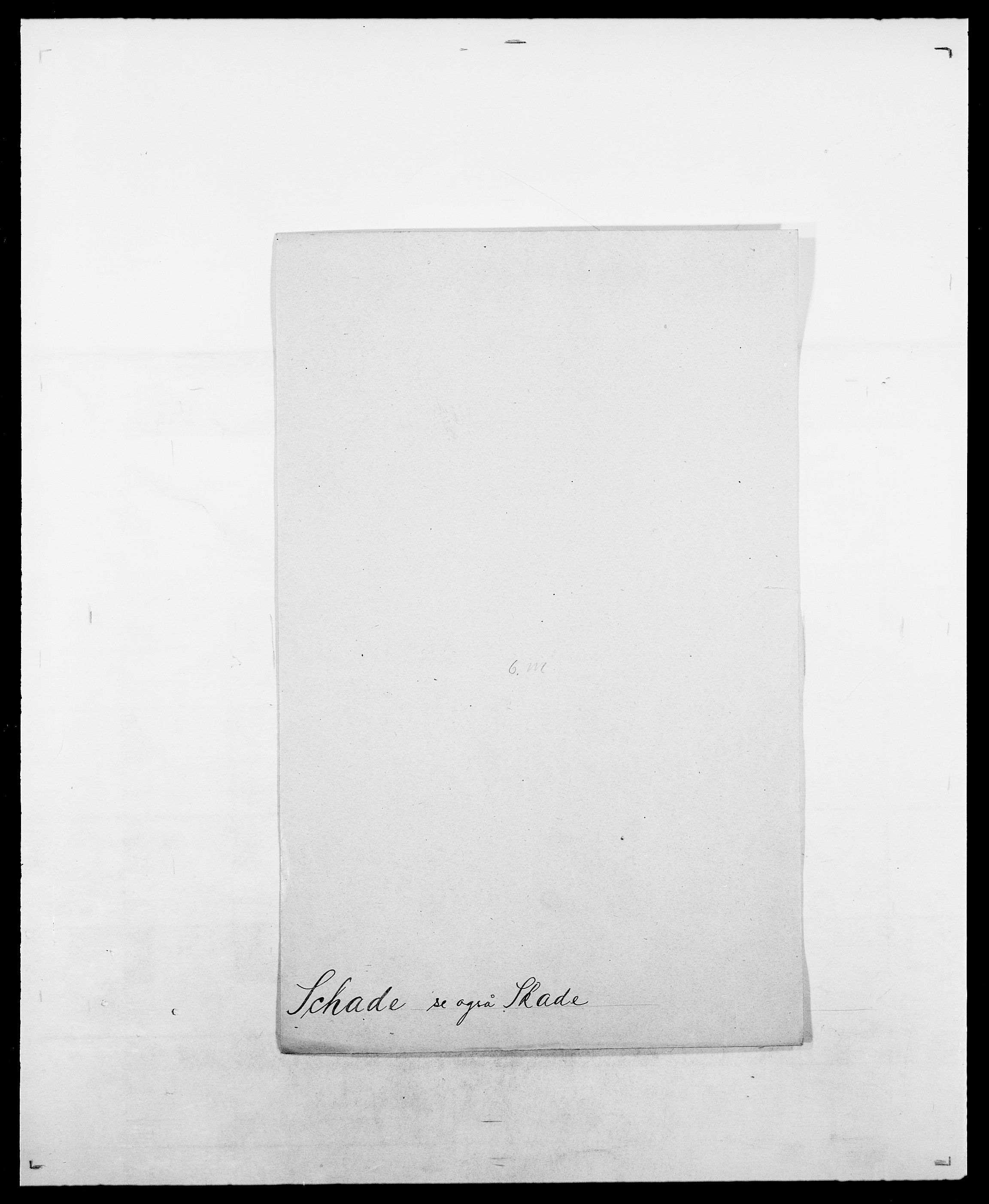 SAO, Delgobe, Charles Antoine - samling, D/Da/L0034: Saabye - Schmincke, s. 310
