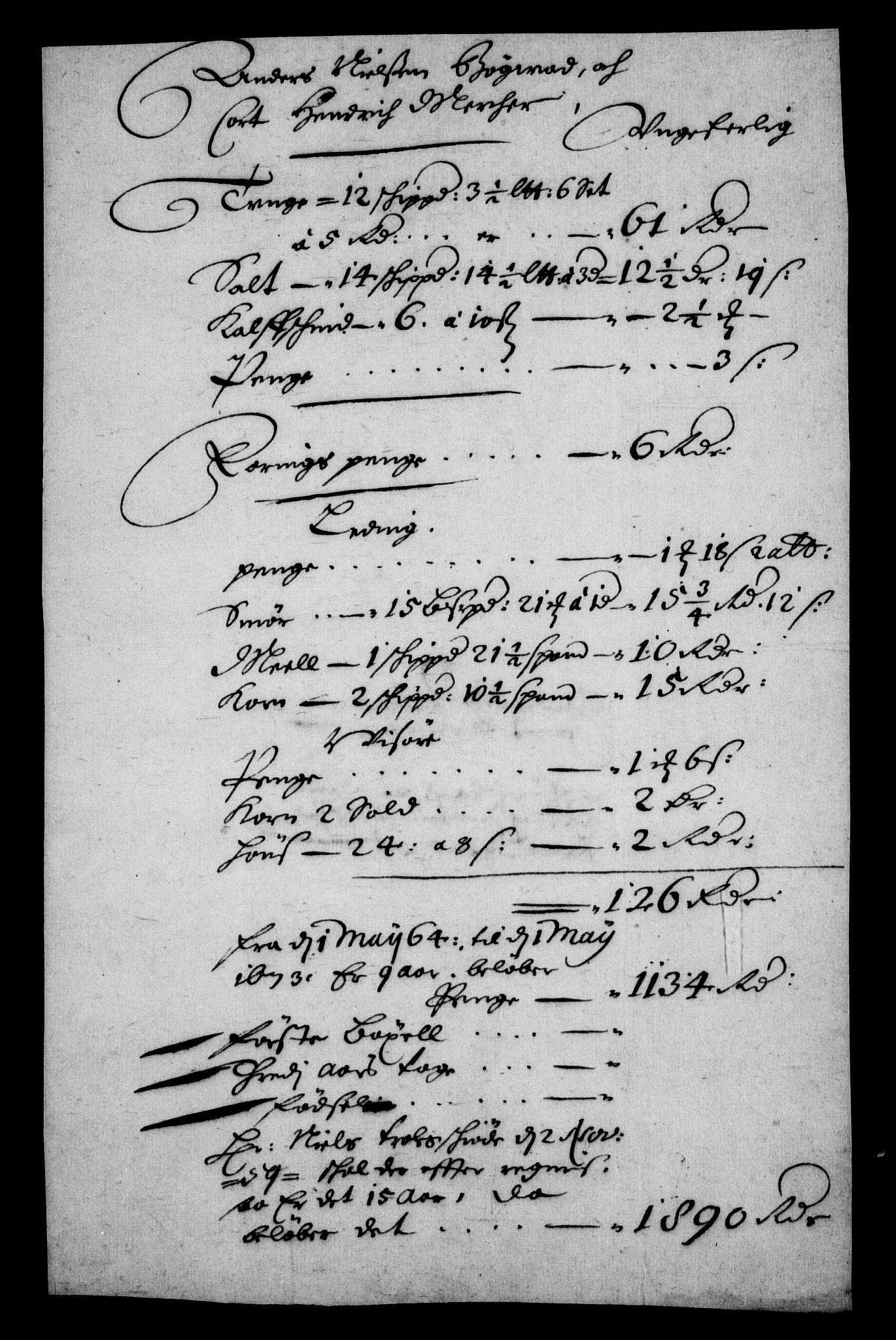 RA, Rentekammeret inntil 1814, Realistisk ordnet avdeling, On/L0010: [Jj 11]: Salg av krongods i Norge, 1661-1704, s. 527