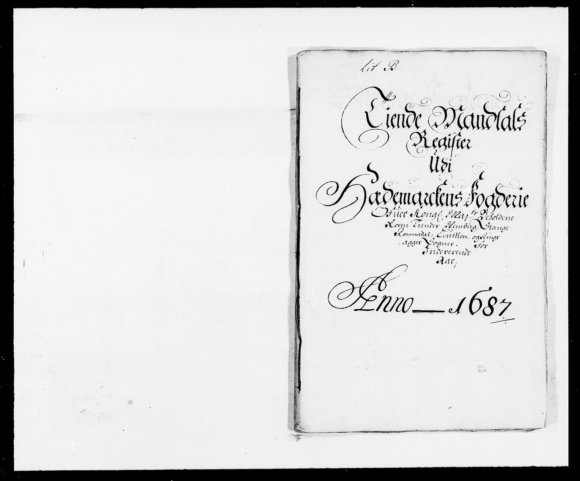 RA, Rentekammeret inntil 1814, Reviderte regnskaper, Fogderegnskap, R16/L1028: Fogderegnskap Hedmark, 1687, s. 35