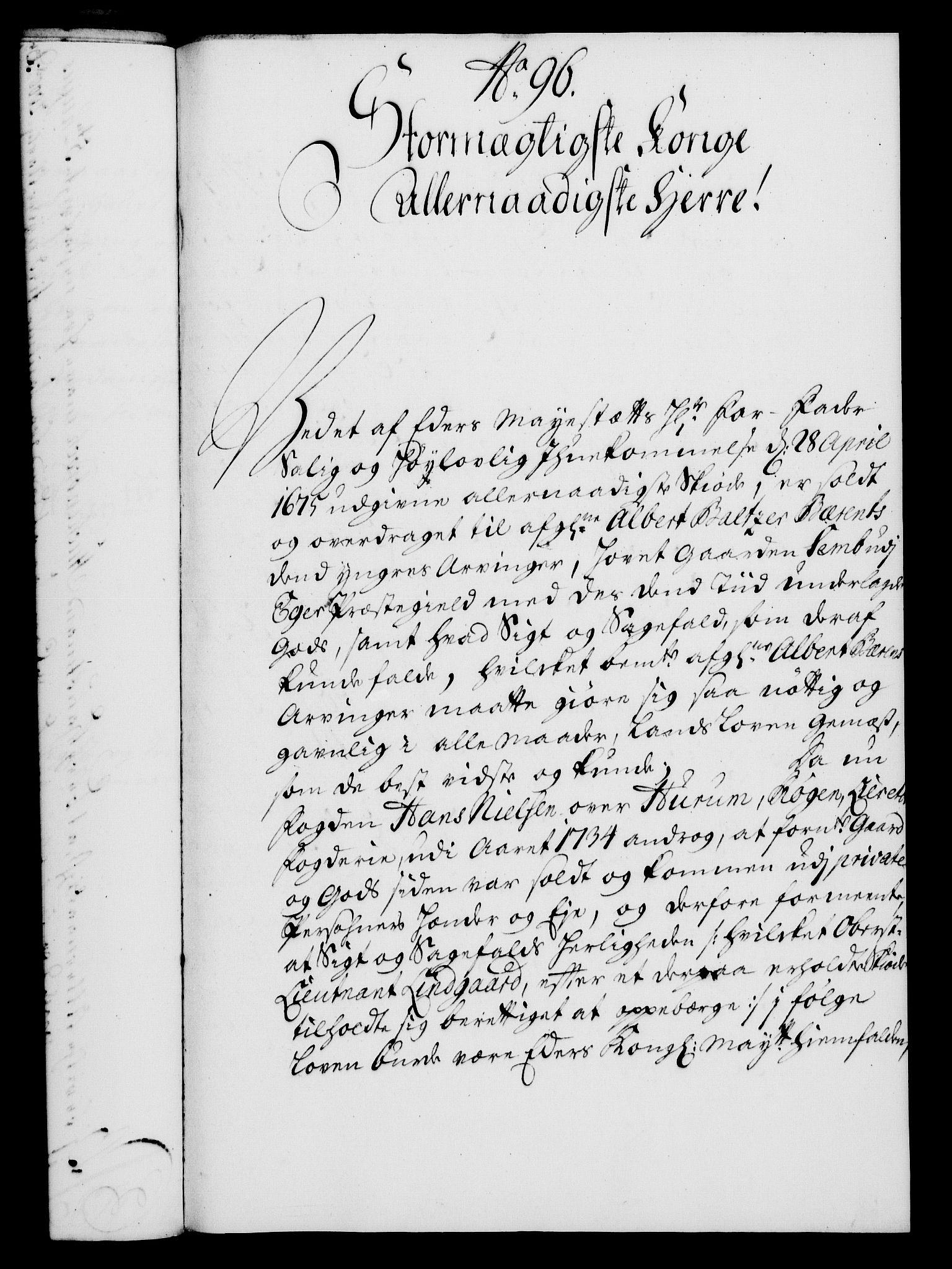 RA, Rentekammeret, Kammerkanselliet, G/Gf/Gfa/L0022: Norsk relasjons- og resolusjonsprotokoll (merket RK 52.22), 1739, s. 695
