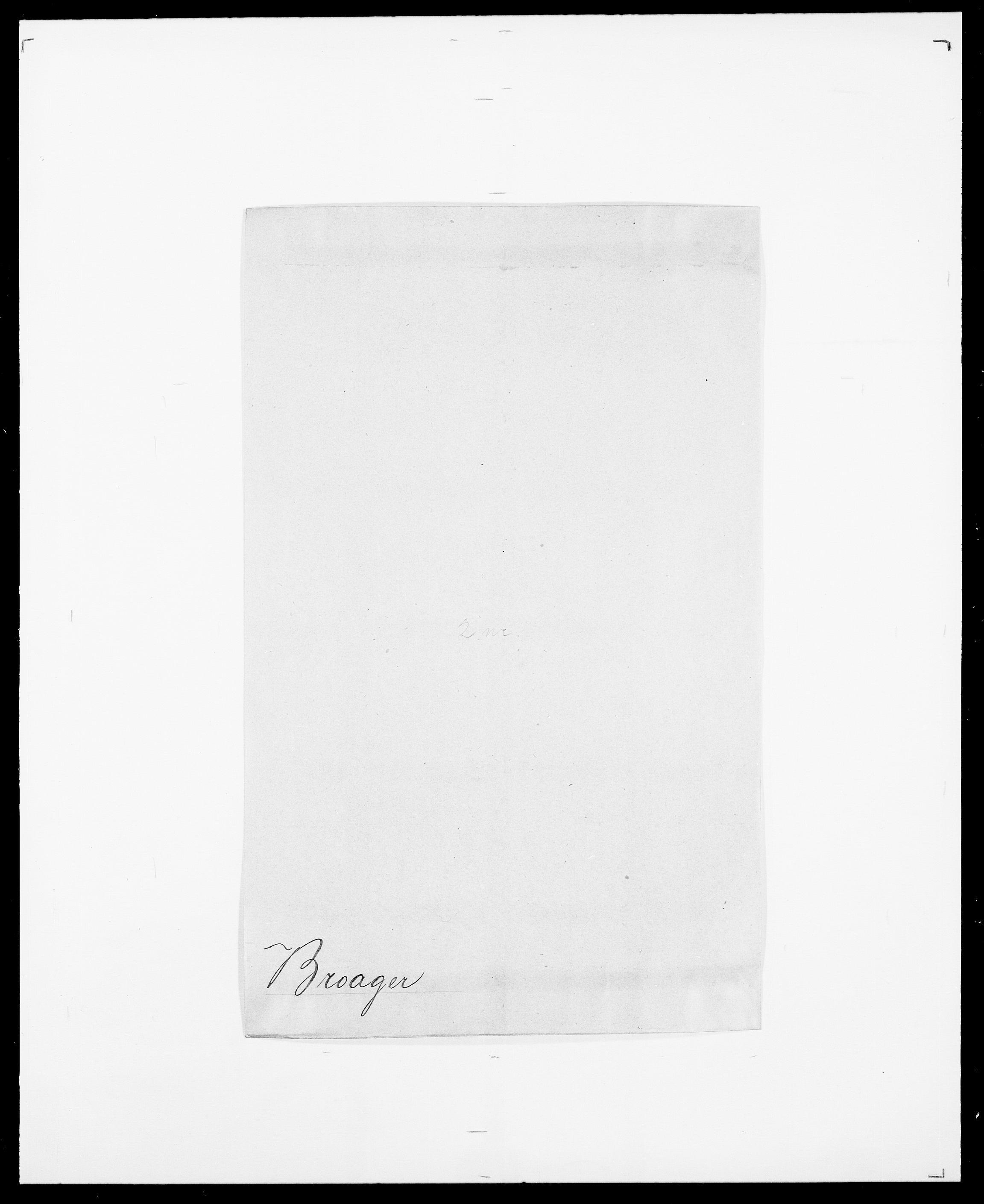 SAO, Delgobe, Charles Antoine - samling, D/Da/L0006: Brambani - Brønø, s. 414