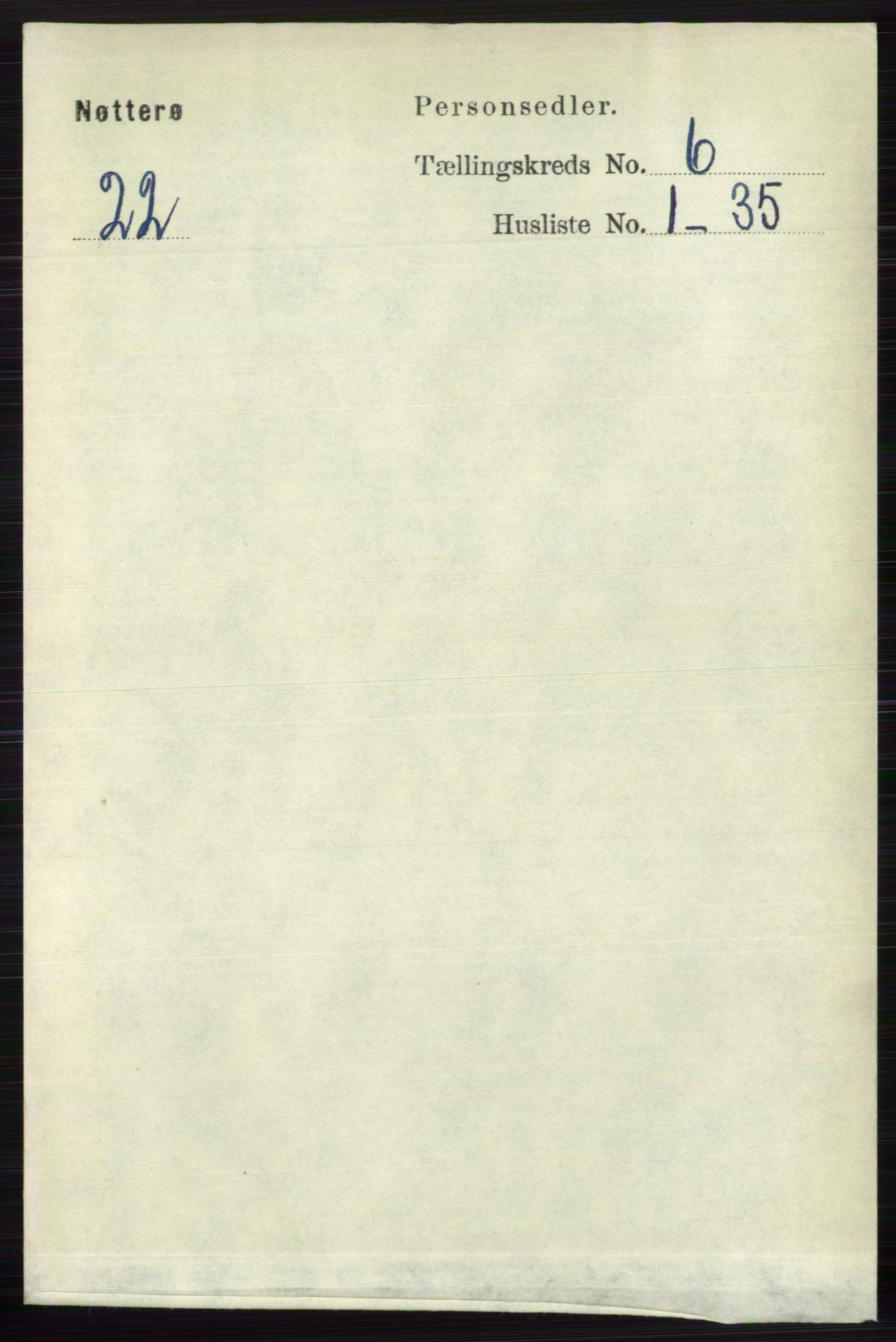 RA, Folketelling 1891 for 0722 Nøtterøy herred, 1891, s. 2849
