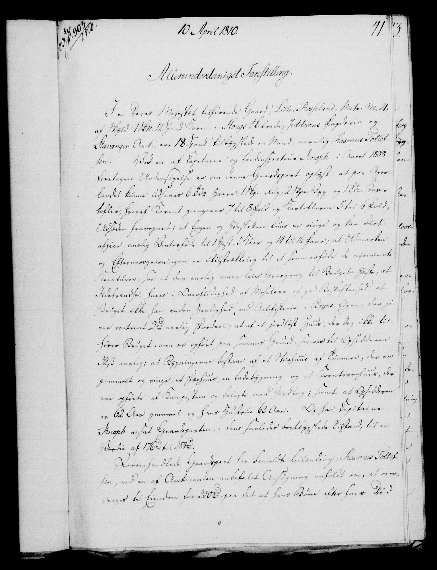RA, Rentekammeret, Kammerkanselliet, G/Gf/Gfa/L0092: Norsk relasjons- og resolusjonsprotokoll (merket RK 52.92), 1810, s. 157