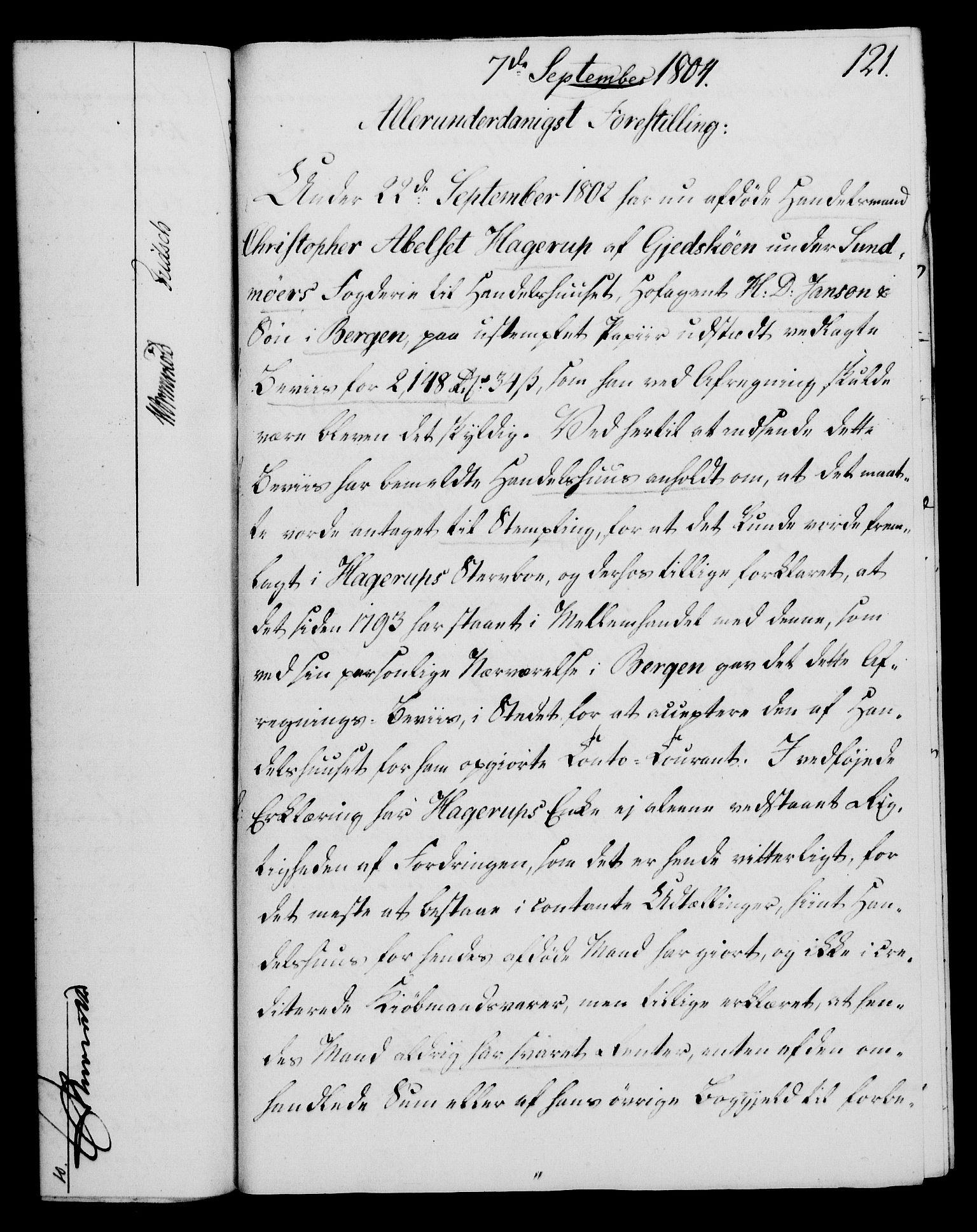 RA, Rentekammeret, Kammerkanselliet, G/Gf/Gfa/L0086: Norsk relasjons- og resolusjonsprotokoll (merket RK 52.86), 1804, s. 687