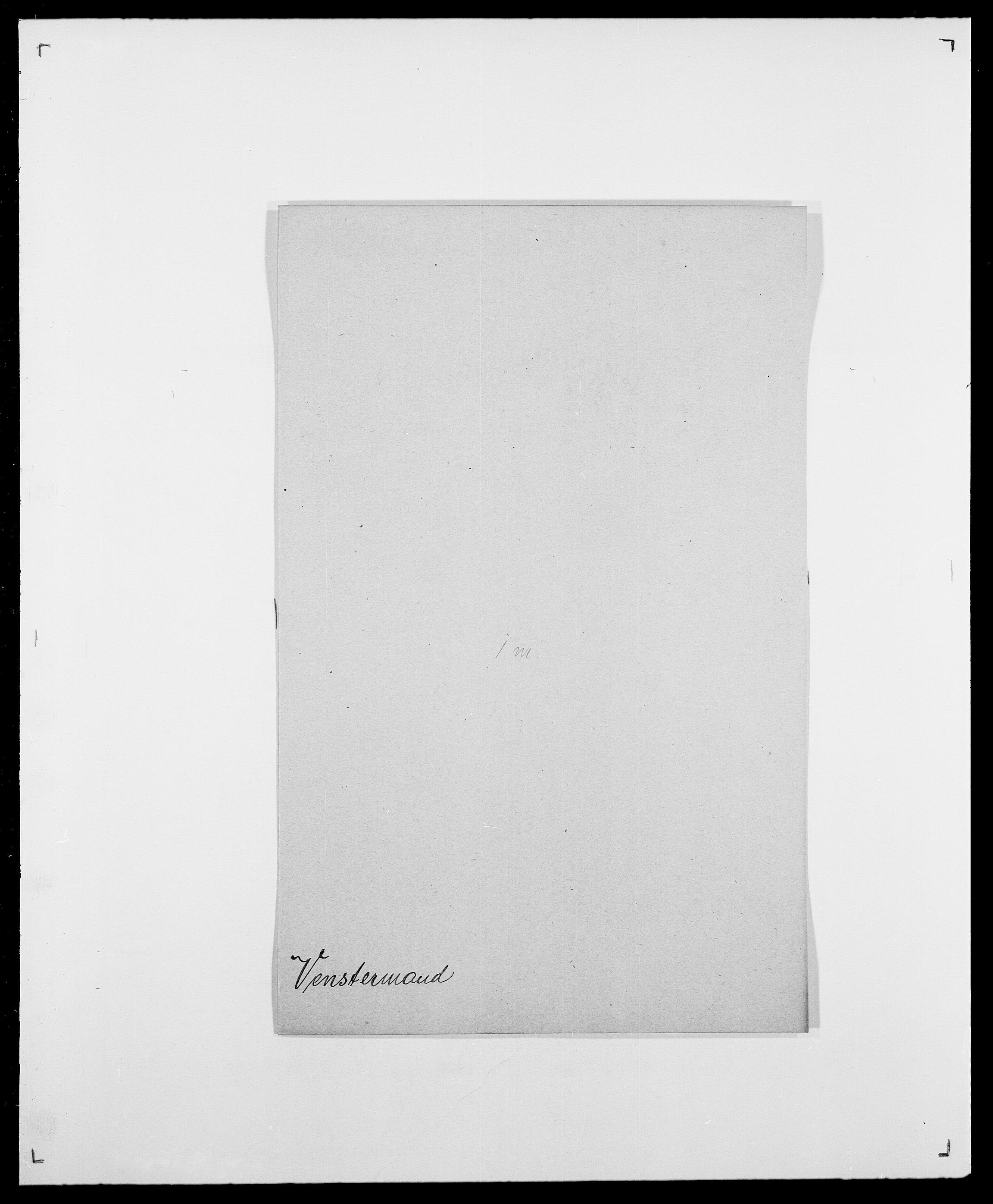 SAO, Delgobe, Charles Antoine - samling, D/Da/L0041: Vemmestad - Viker, s. 47