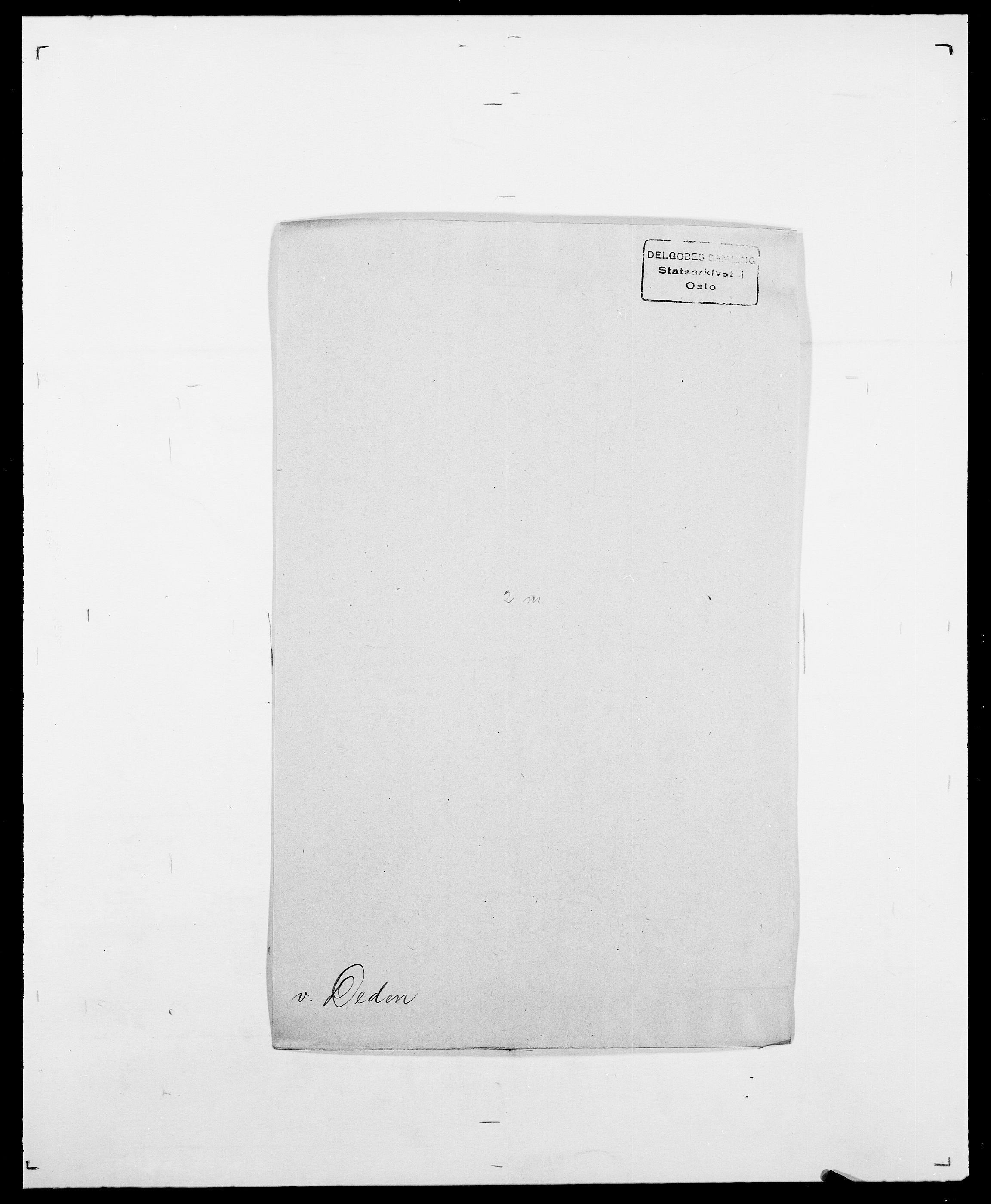 SAO, Delgobe, Charles Antoine - samling, D/Da/L0009: Dahl - v. Düren, s. 412