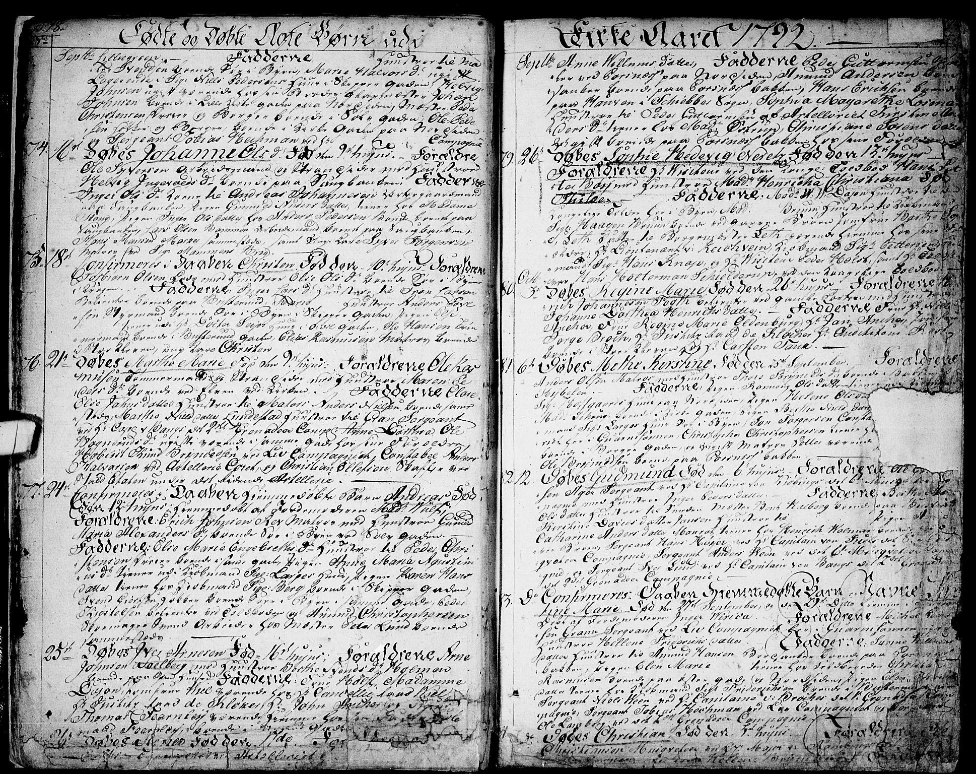SAO, Halden prestekontor Kirkebøker, F/Fa/L0002: Ministerialbok nr. I 2, 1792-1812, s. 18-19