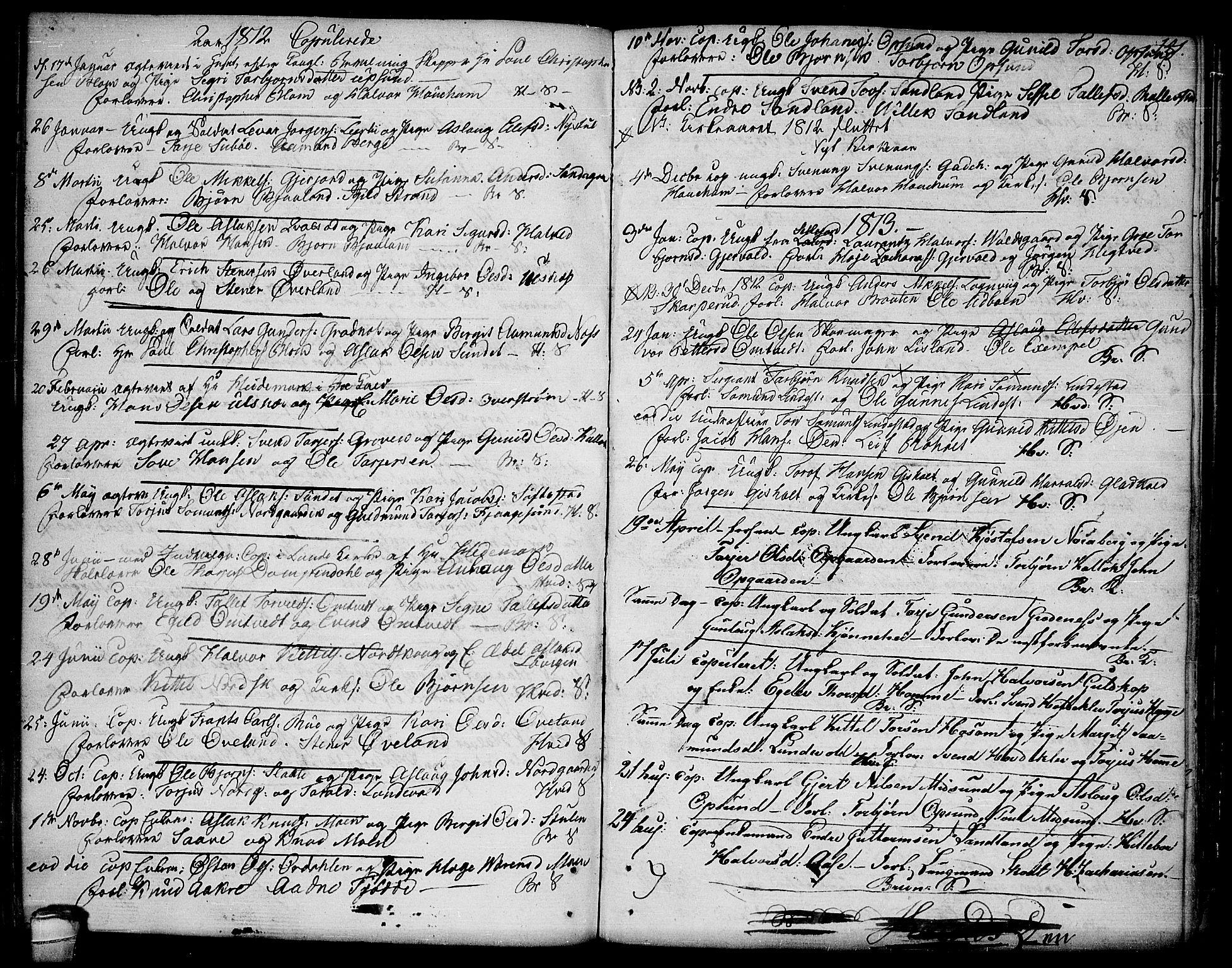SAKO, Kviteseid kirkebøker, F/Fa/L0004: Ministerialbok nr. I 4, 1800-1814, s. 141