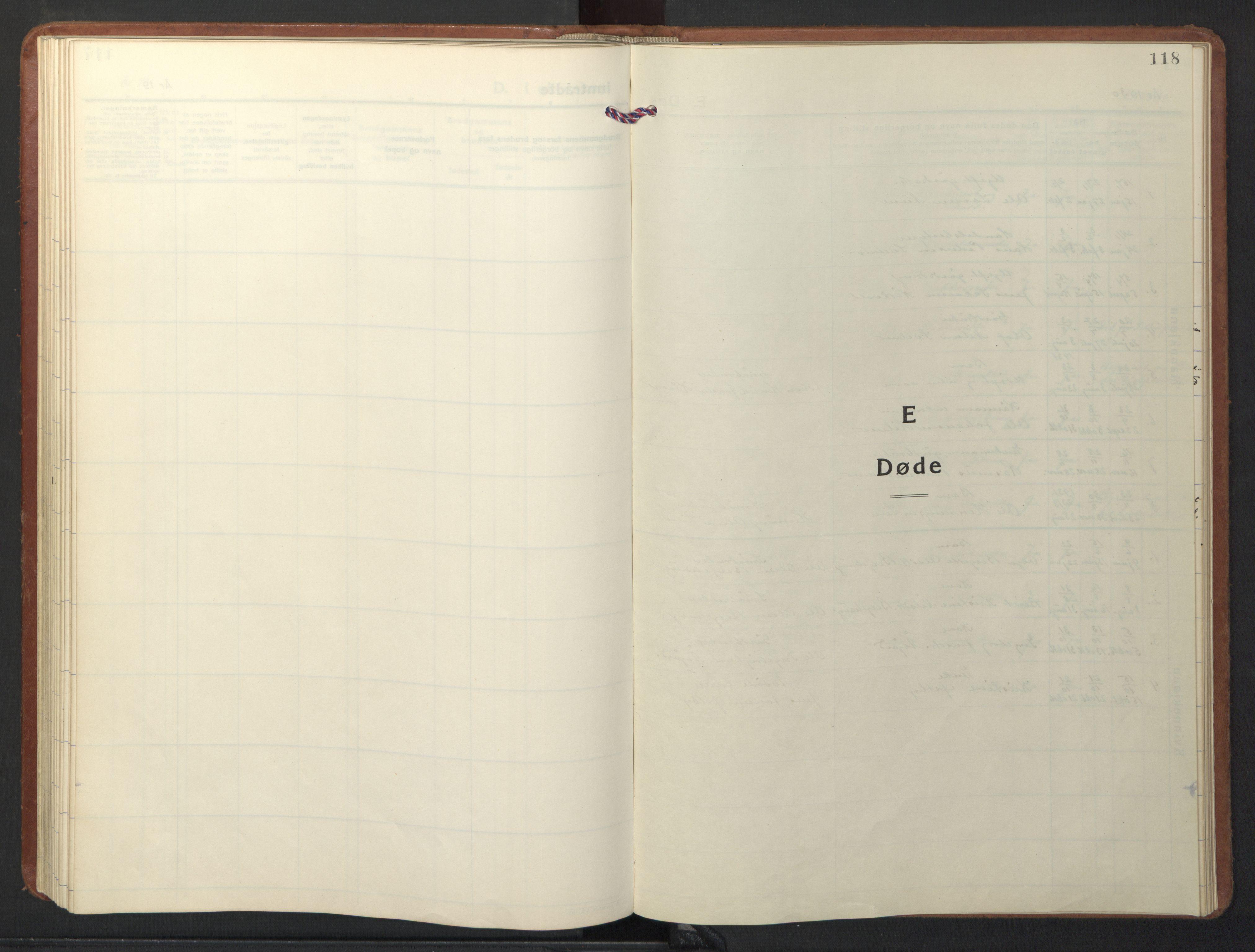 SAT, Ministerialprotokoller, klokkerbøker og fødselsregistre - Sør-Trøndelag, 698/L1169: Klokkerbok nr. 698C06, 1930-1949, s. 118
