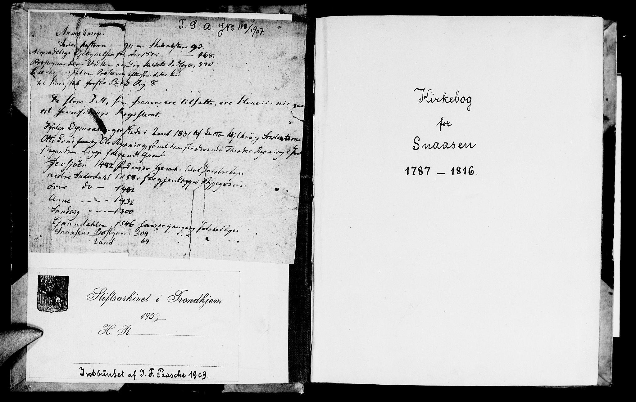 SAT, Ministerialprotokoller, klokkerbøker og fødselsregistre - Nord-Trøndelag, 749/L0468: Ministerialbok nr. 749A02, 1787-1817