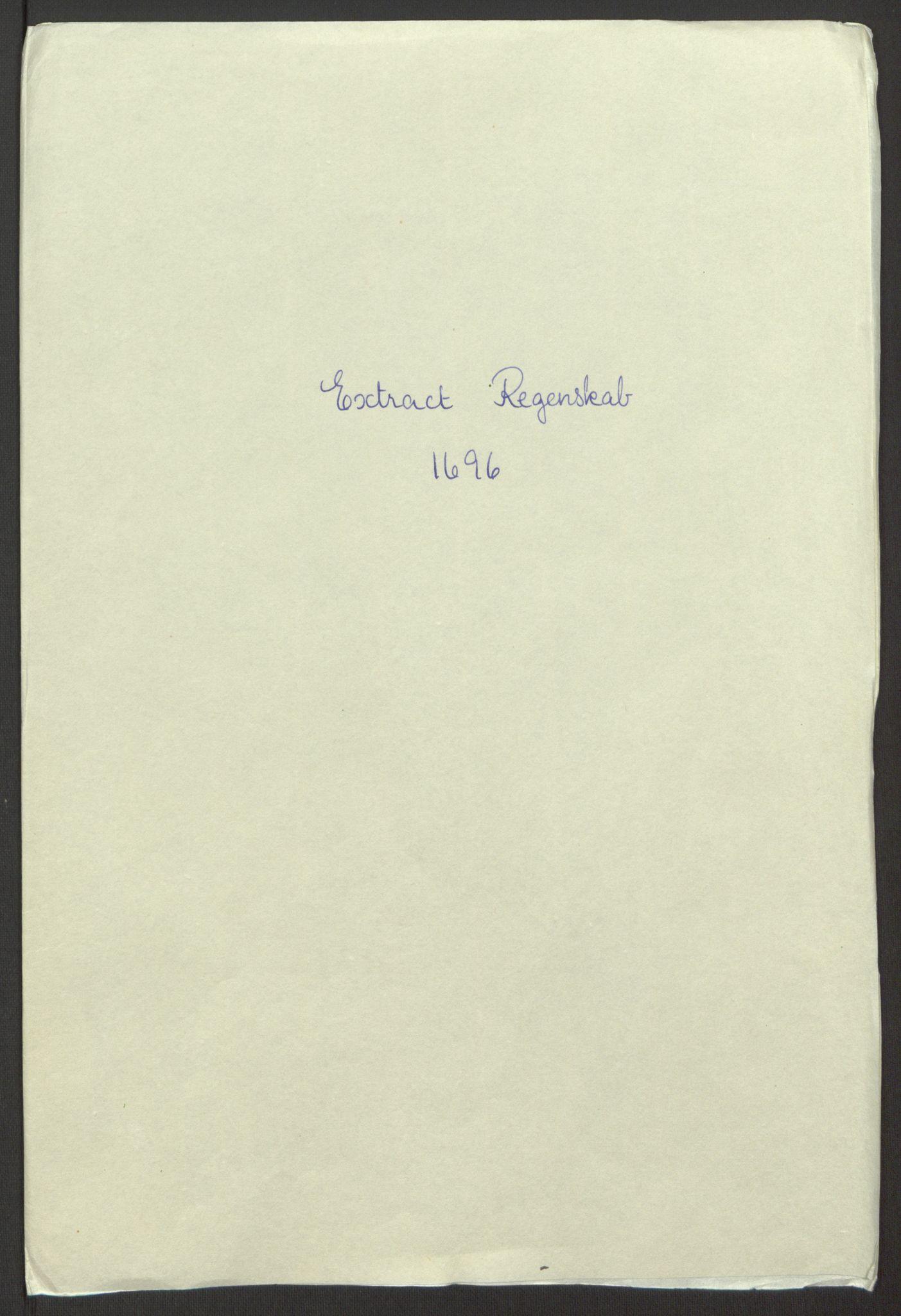RA, Rentekammeret inntil 1814, Reviderte regnskaper, Fogderegnskap, R65/L4505: Fogderegnskap Helgeland, 1693-1696, s. 402