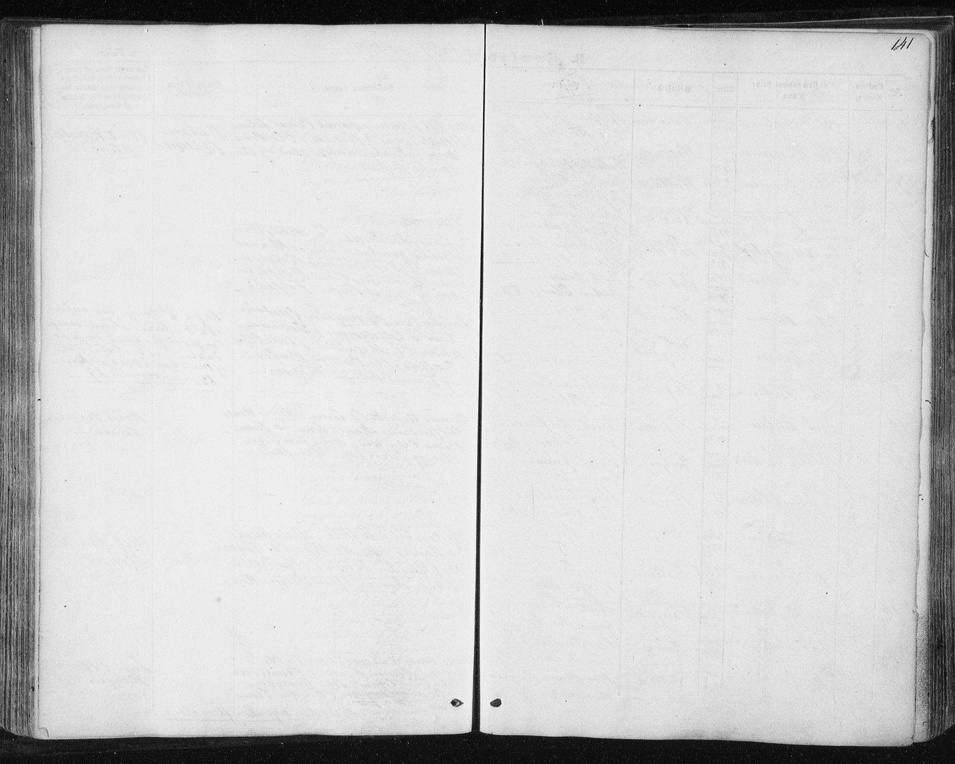 SAT, Ministerialprotokoller, klokkerbøker og fødselsregistre - Sør-Trøndelag, 687/L1000: Ministerialbok nr. 687A06, 1848-1869, s. 141