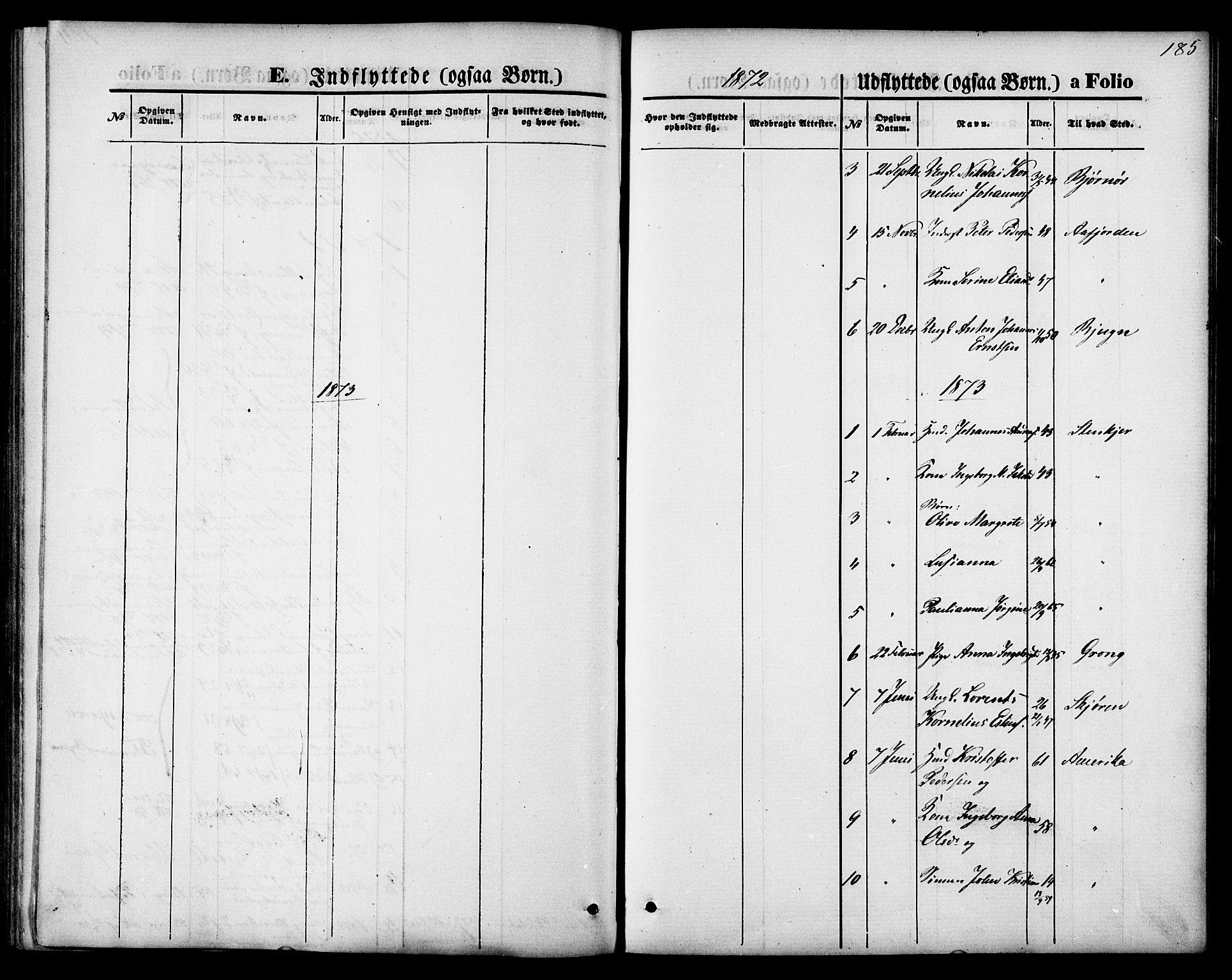 SAT, Ministerialprotokoller, klokkerbøker og fødselsregistre - Nord-Trøndelag, 744/L0419: Ministerialbok nr. 744A03, 1867-1881, s. 185