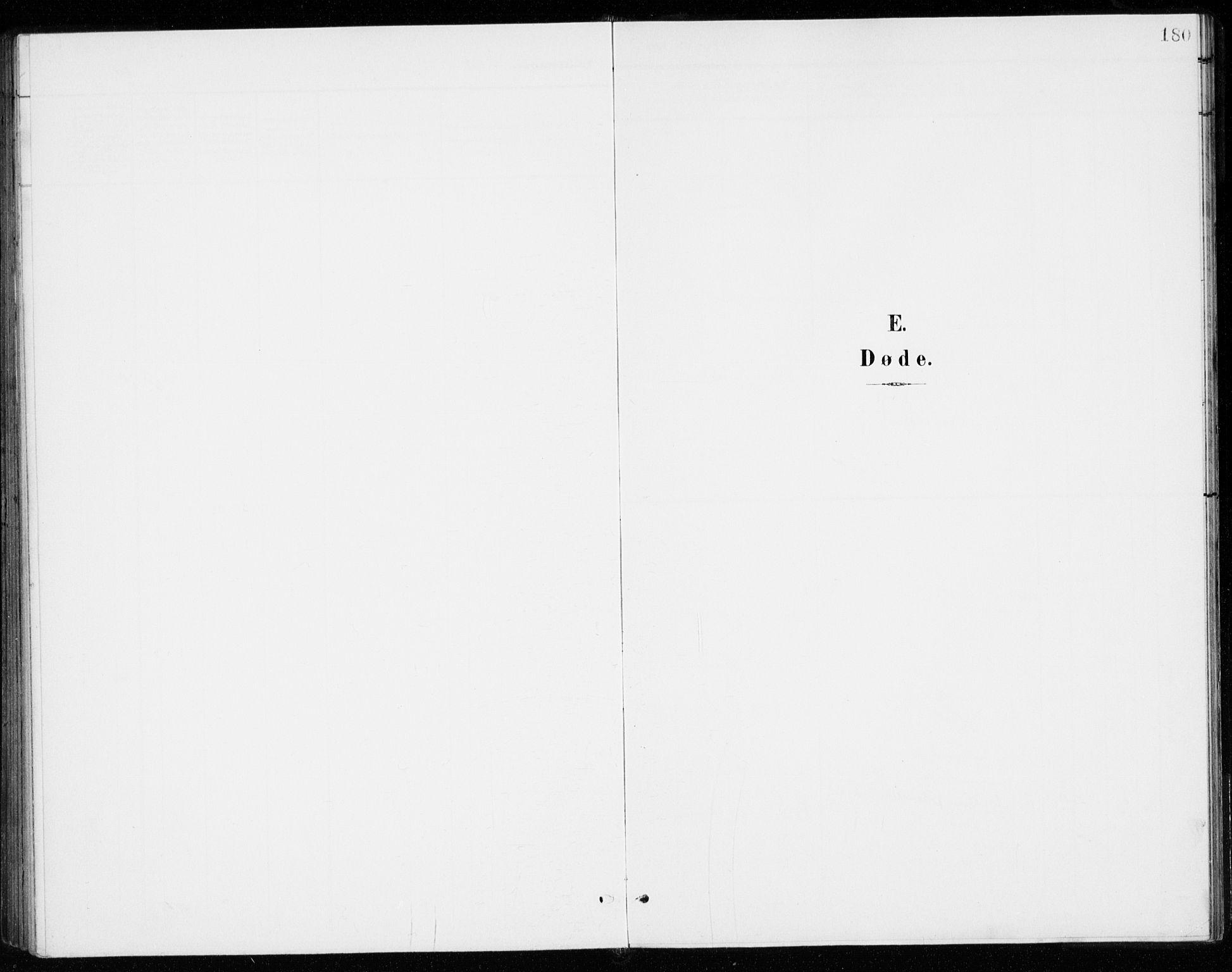 SAO, Gjerdrum prestekontor Kirkebøker, G/Gb/L0001: Klokkerbok nr. II 1, 1901-1944, s. 180