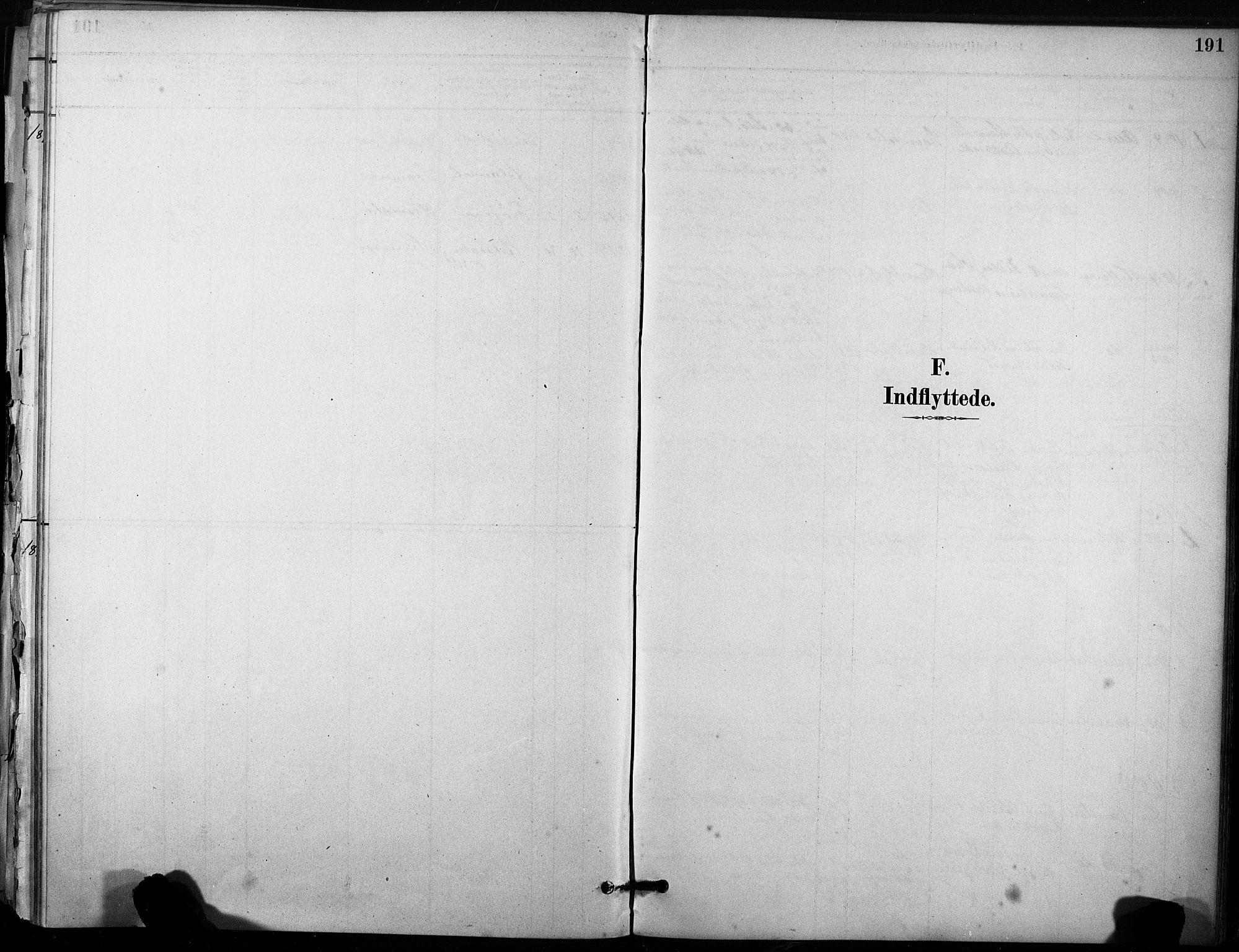 SAT, Ministerialprotokoller, klokkerbøker og fødselsregistre - Sør-Trøndelag, 633/L0518: Ministerialbok nr. 633A01, 1884-1906, s. 191
