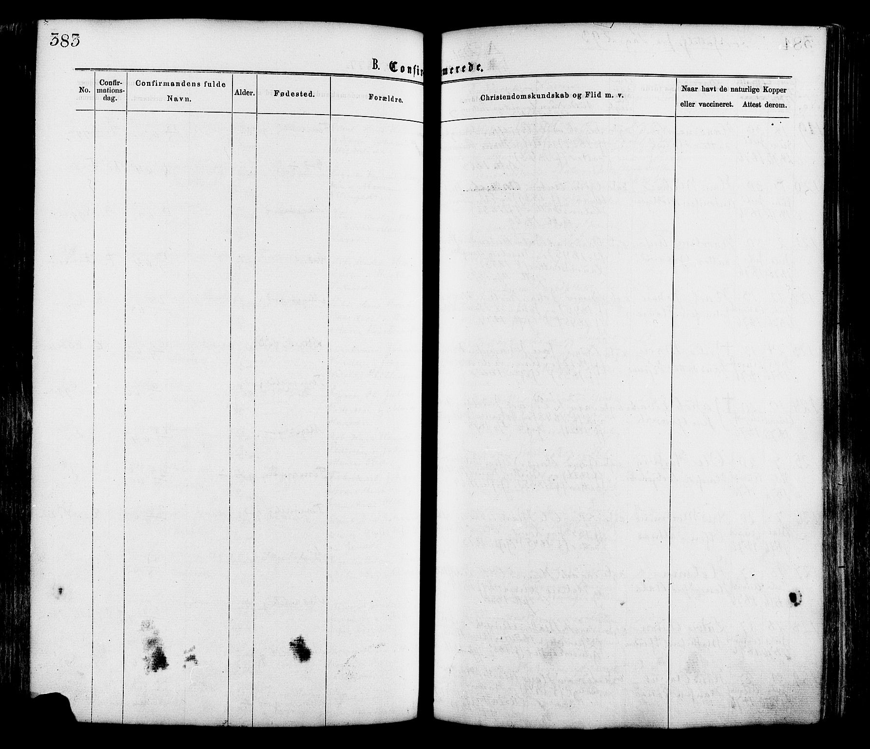 SAO, Onsøy prestekontor Kirkebøker, F/Fa/L0004: Ministerialbok nr. I 4, 1861-1877, s. 383