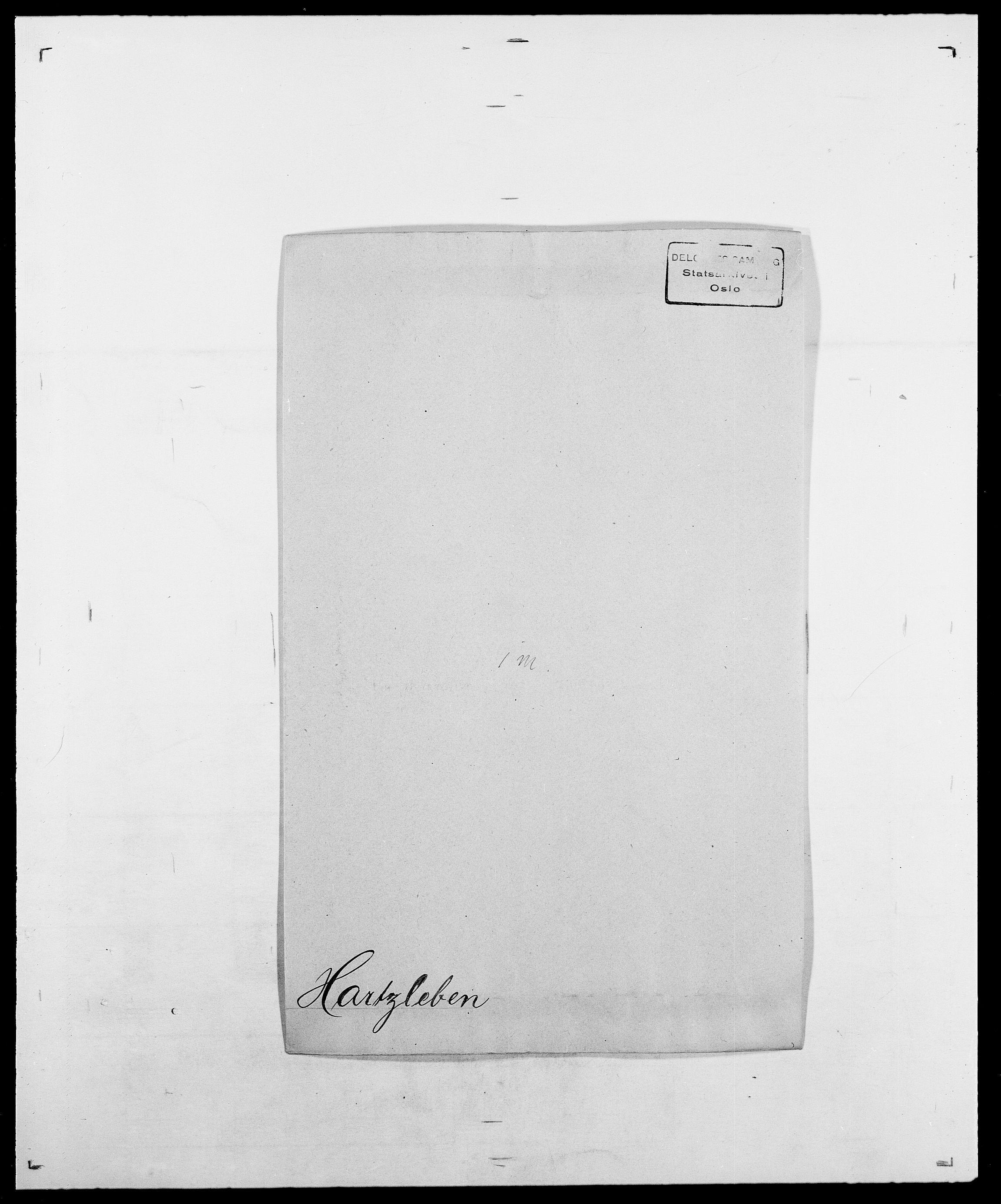 SAO, Delgobe, Charles Antoine - samling, D/Da/L0016: Hamborg - Hektoen, s. 470