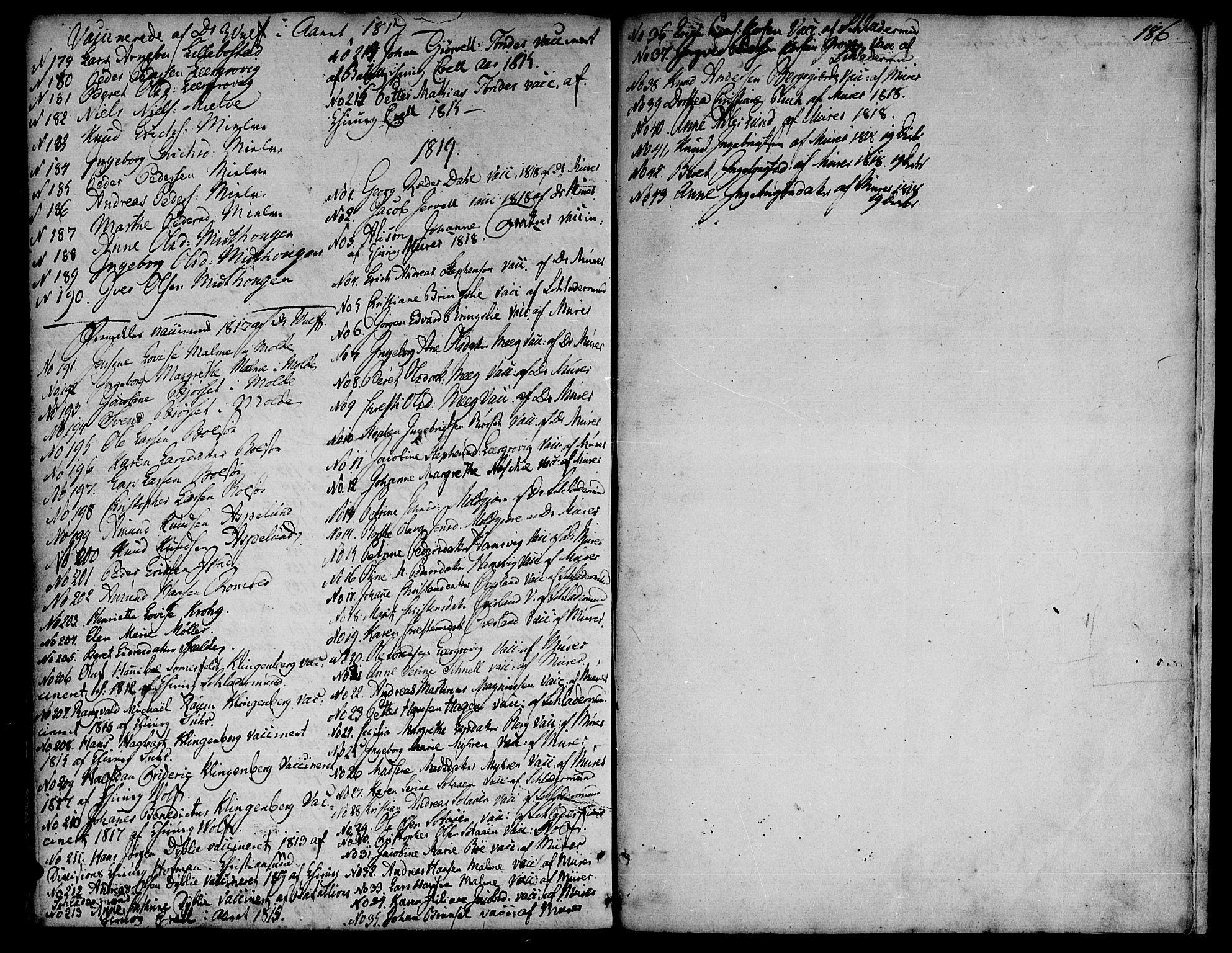SAT, Ministerialprotokoller, klokkerbøker og fødselsregistre - Møre og Romsdal, 555/L0648: Ministerialbok nr. 555A01, 1759-1793, s. 186
