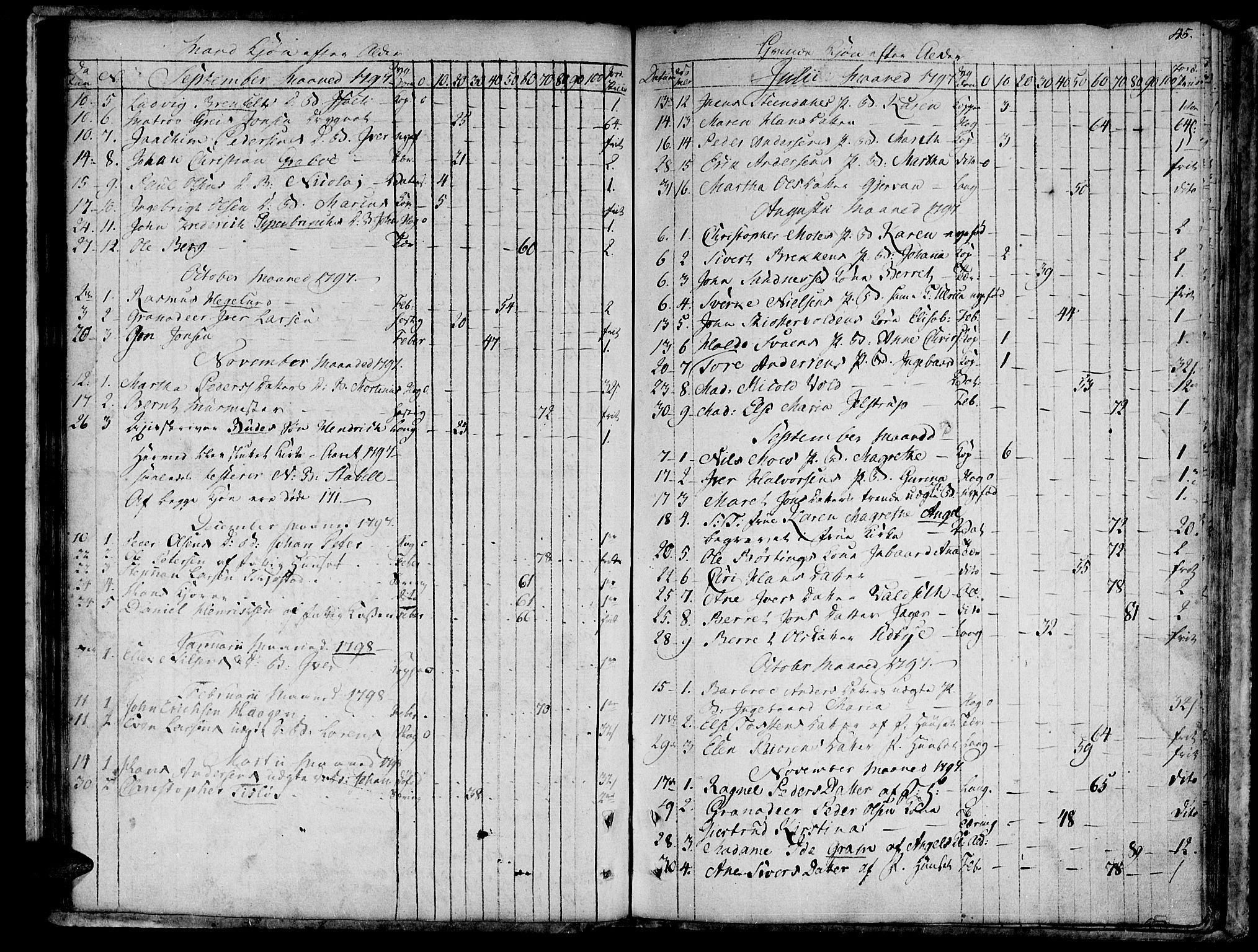 SAT, Ministerialprotokoller, klokkerbøker og fødselsregistre - Sør-Trøndelag, 601/L0040: Ministerialbok nr. 601A08, 1783-1818, s. 45