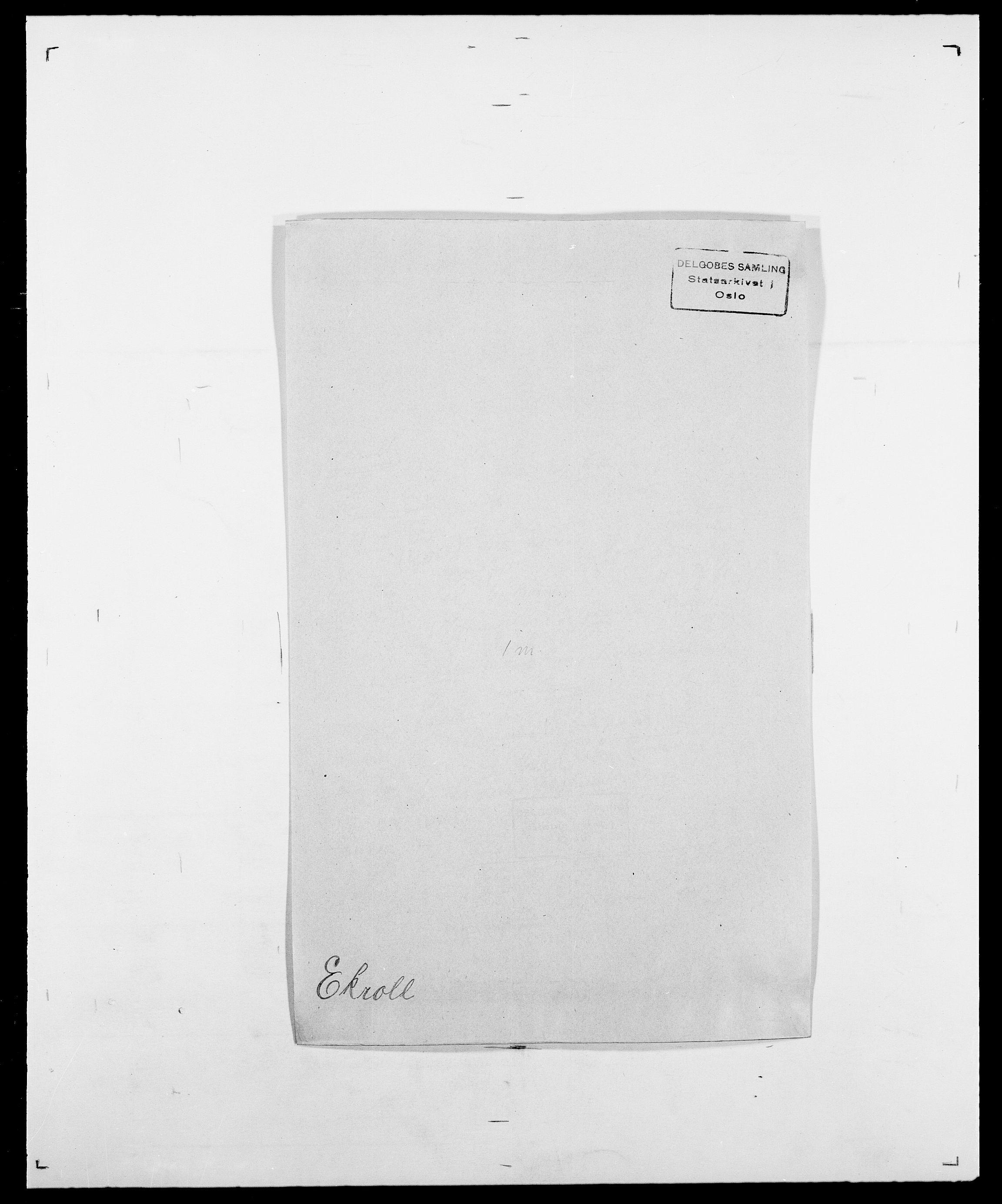 SAO, Delgobe, Charles Antoine - samling, D/Da/L0010: Dürendahl - Fagelund, s. 367