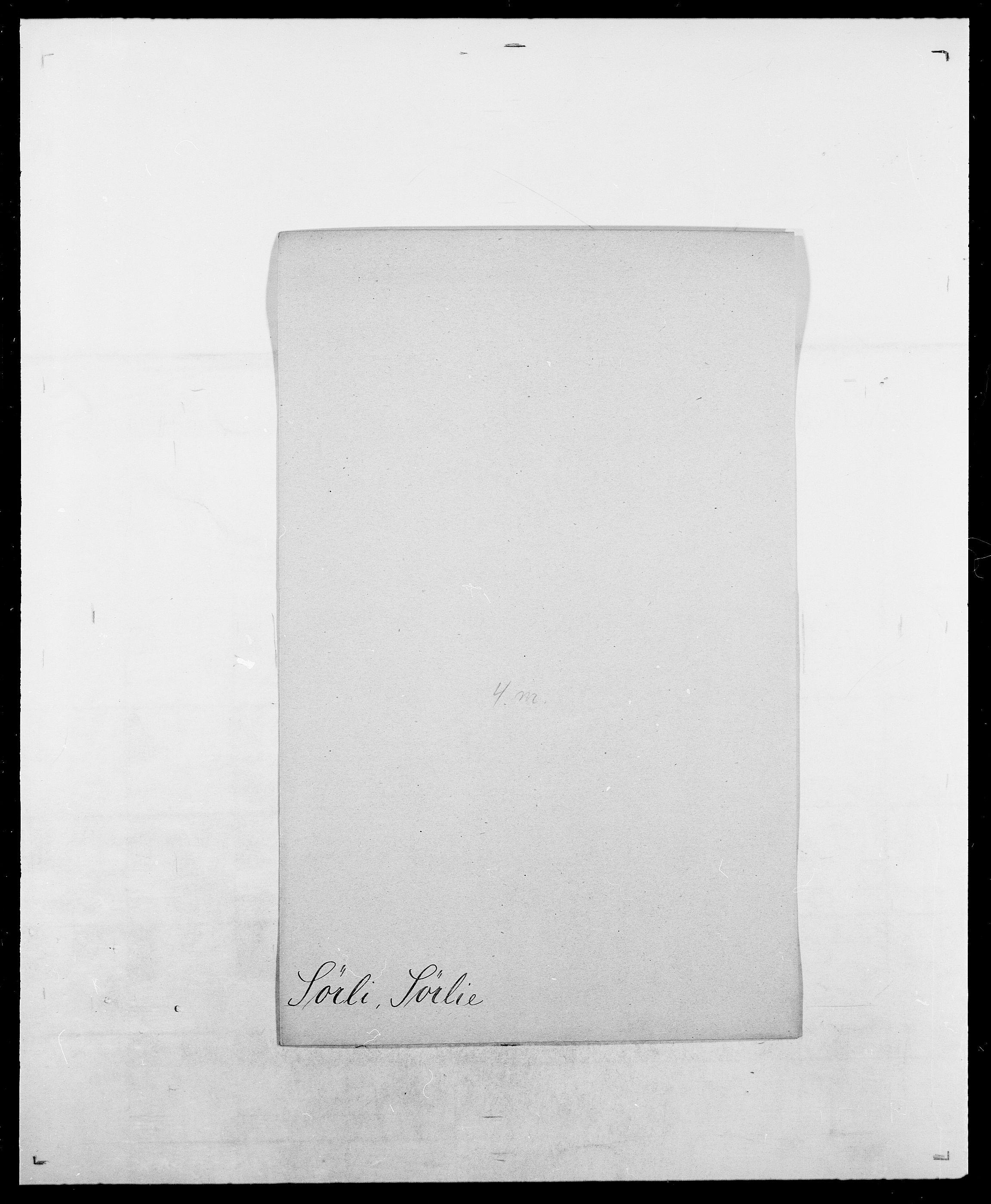 SAO, Delgobe, Charles Antoine - samling, D/Da/L0038: Svanenskjold - Thornsohn, s. 239