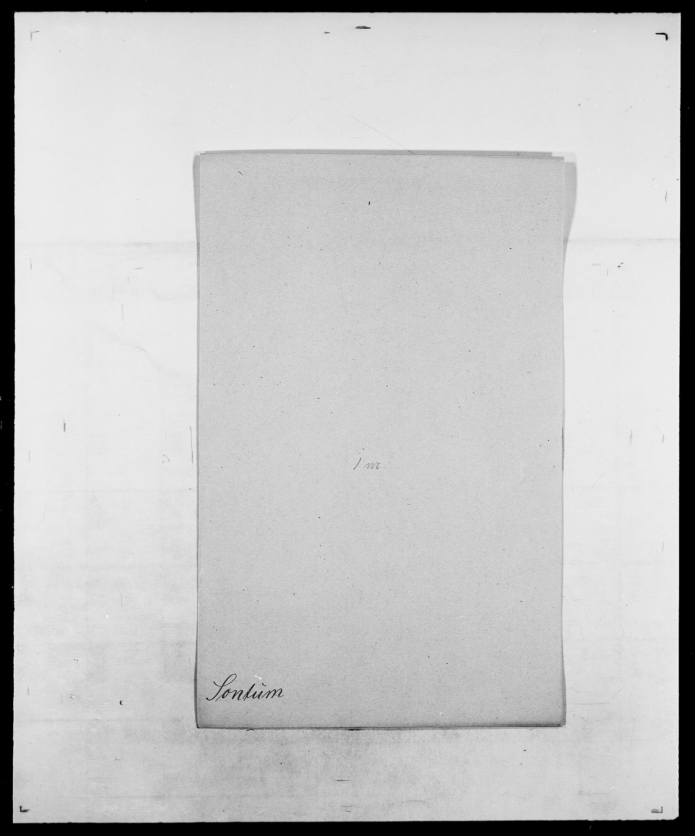 SAO, Delgobe, Charles Antoine - samling, D/Da/L0036: Skaanør - Staverskov, s. 490