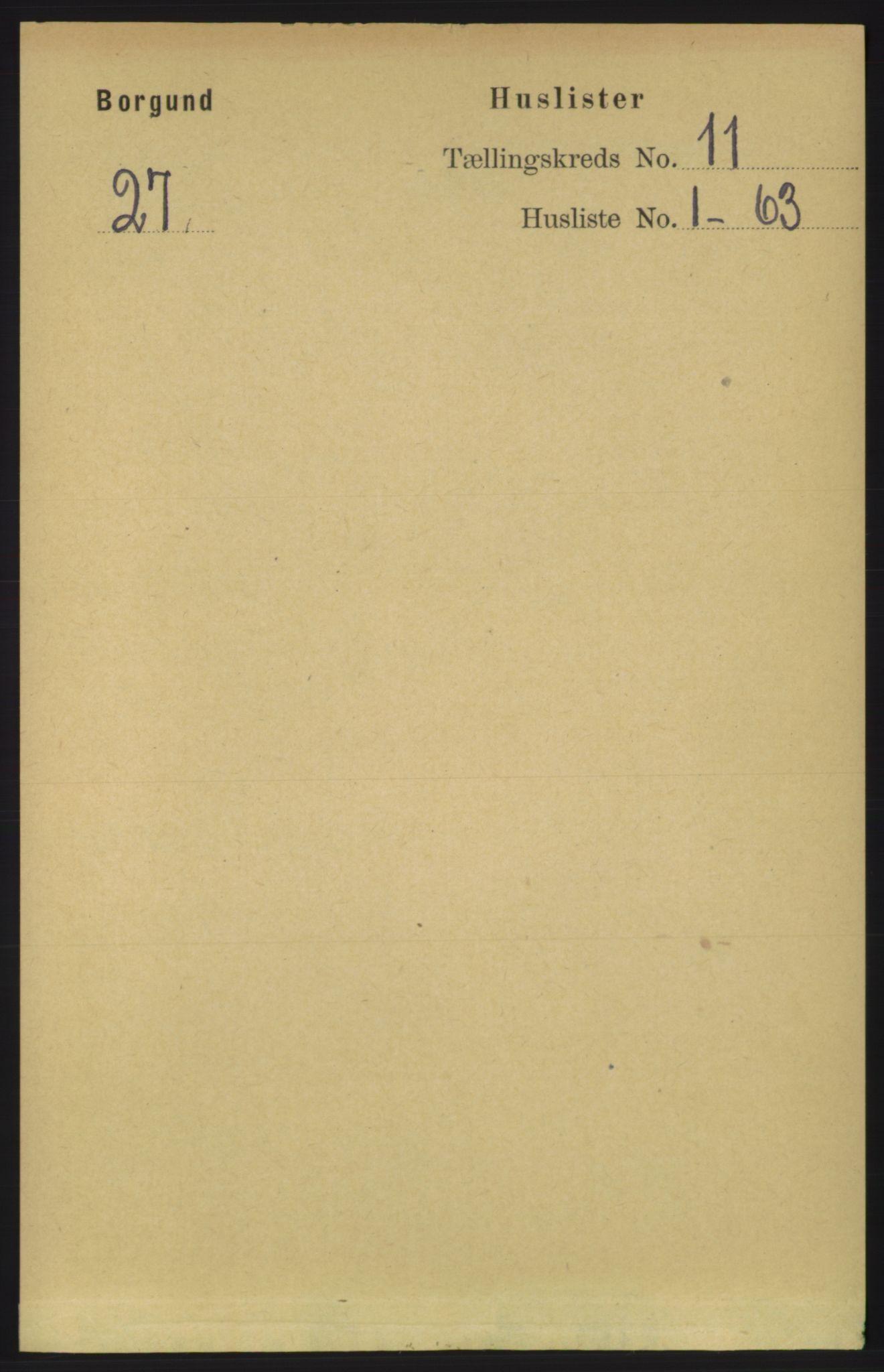 RA, Folketelling 1891 for 1531 Borgund herred, 1891, s. 2688