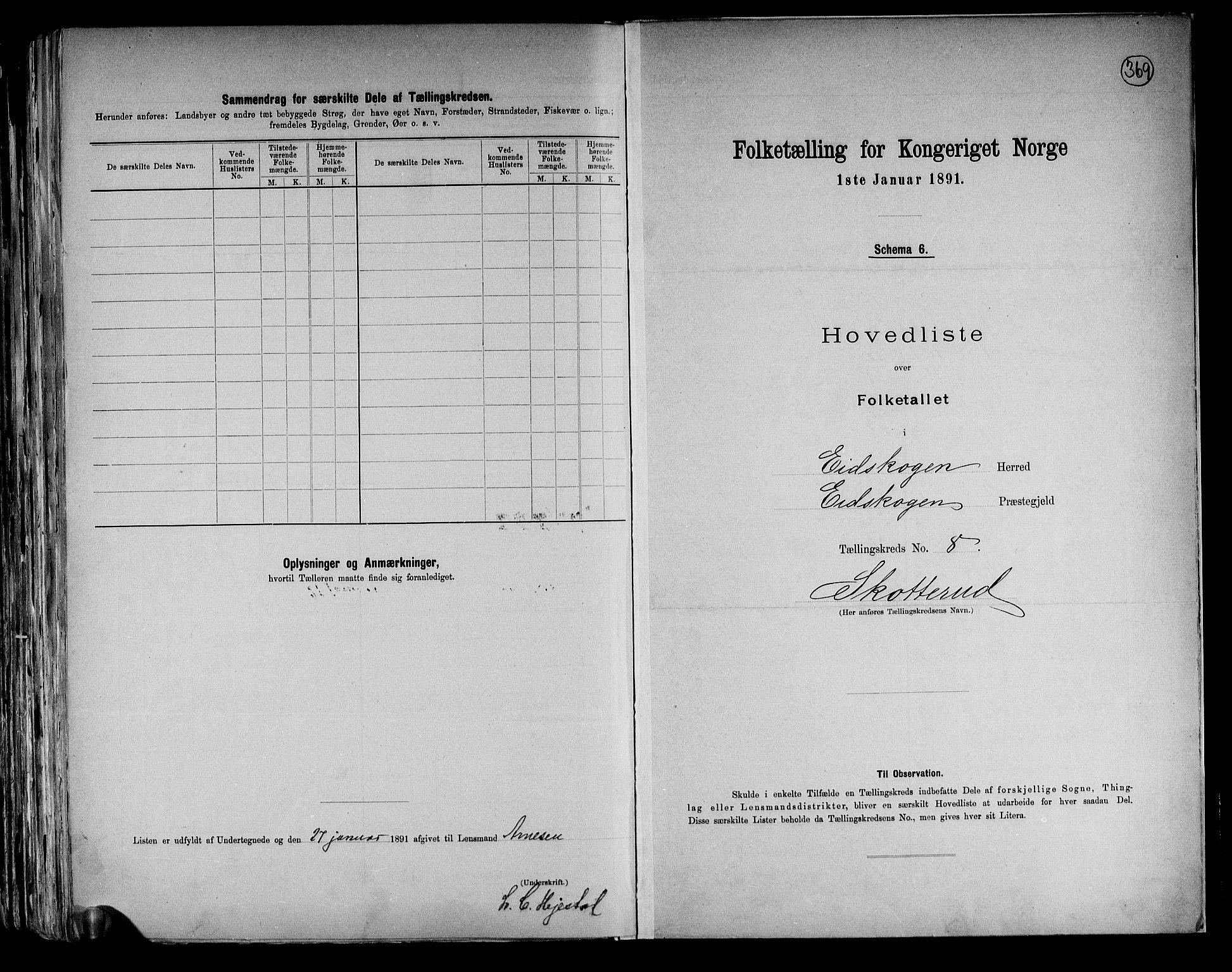 RA, Folketelling 1891 for 0420 Eidskog herred, 1891, s. 26