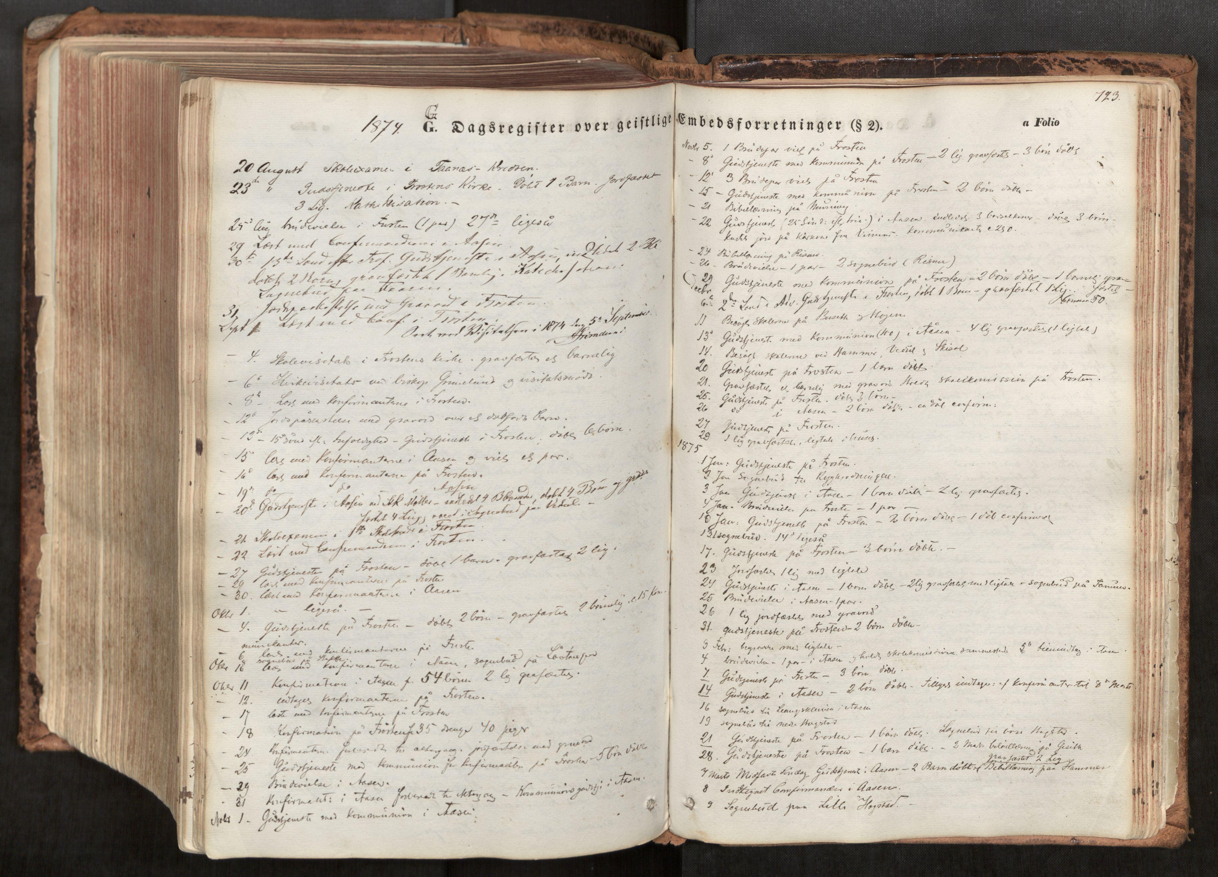 SAT, Ministerialprotokoller, klokkerbøker og fødselsregistre - Nord-Trøndelag, 713/L0116: Ministerialbok nr. 713A07, 1850-1877, s. 723