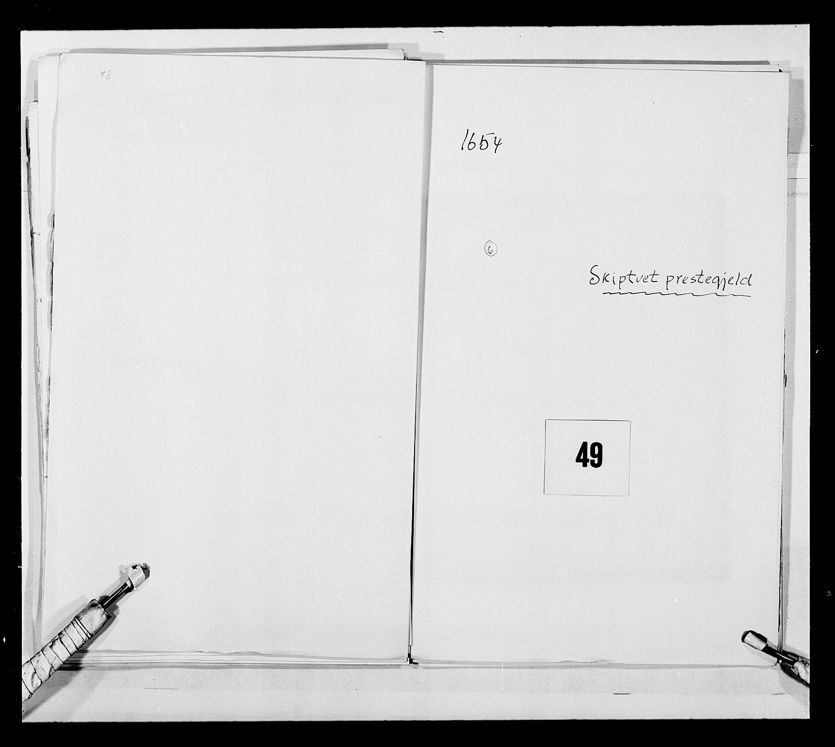 RA, Stattholderembetet 1572-1771, Ek/L0030: Jordebøker 1633-1658:, 1654, s. 231