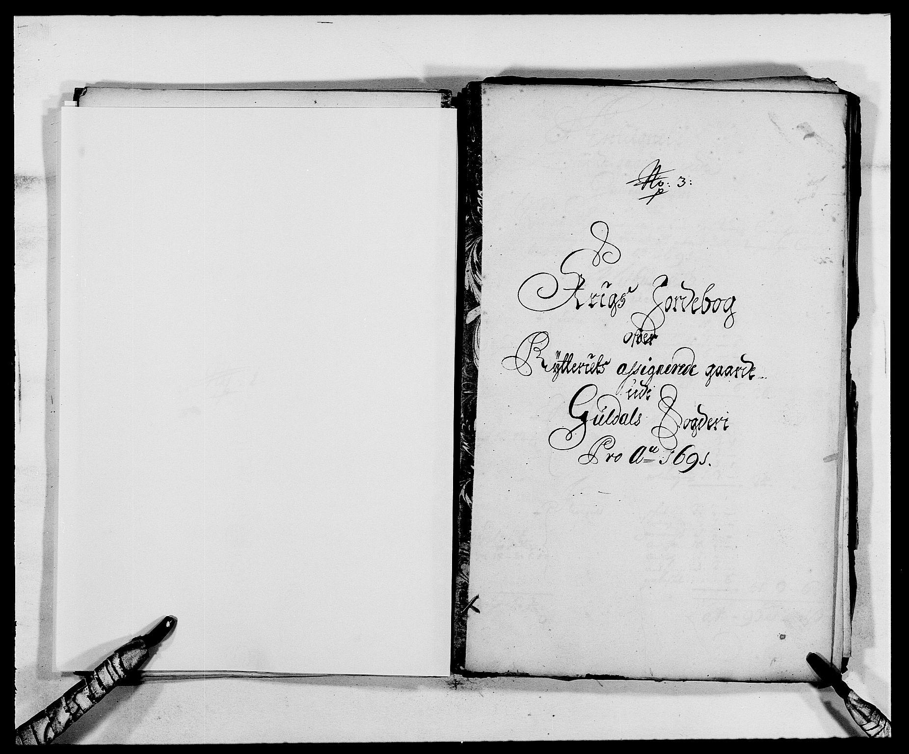 RA, Rentekammeret inntil 1814, Reviderte regnskaper, Fogderegnskap, R59/L3941: Fogderegnskap Gauldal, 1691, s. 180